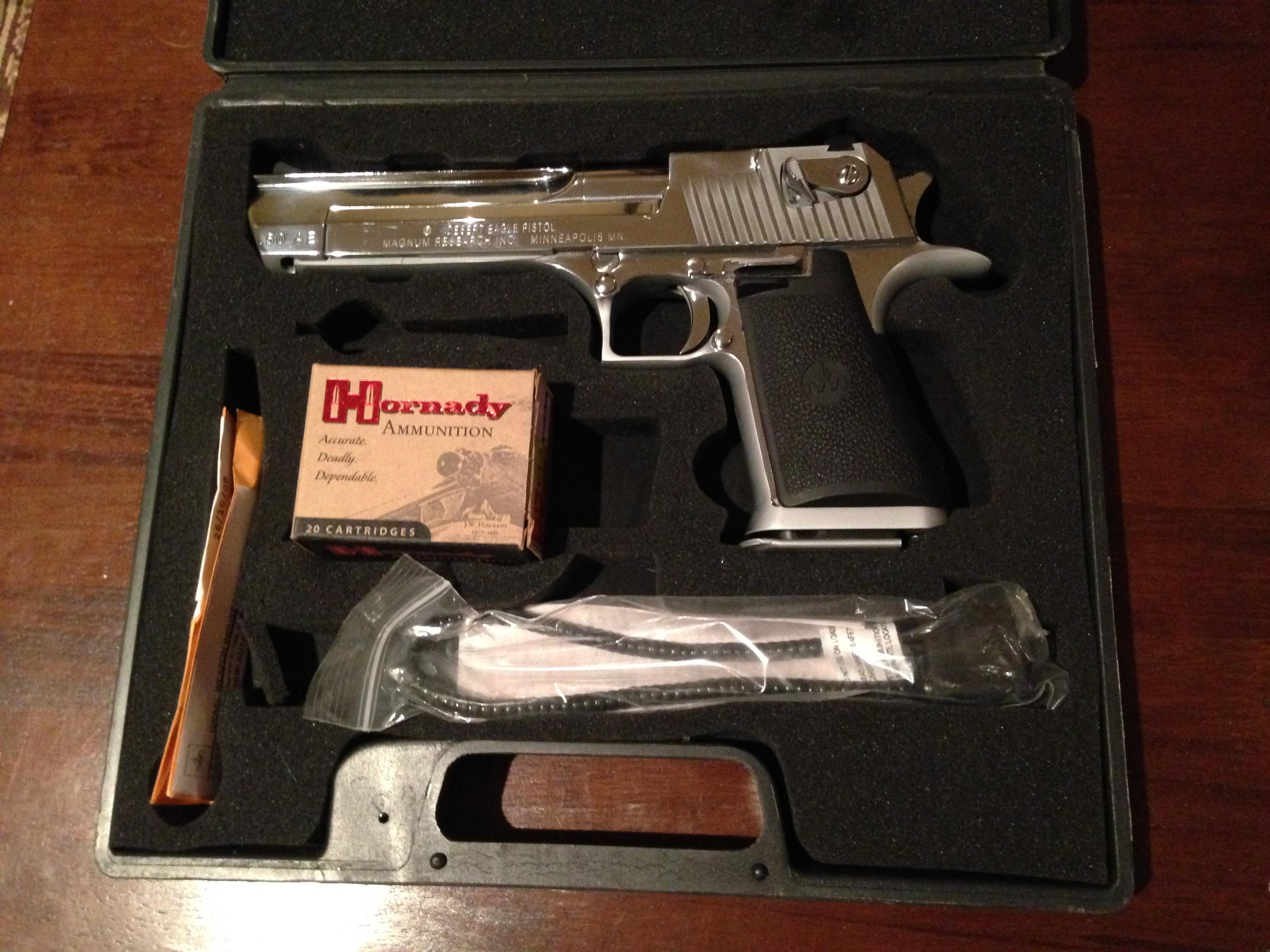 Desert Eagle .50 AE Made in Israel  Guns > Pistols > Desert Eagle/IMI Pistols > Desert Eagle