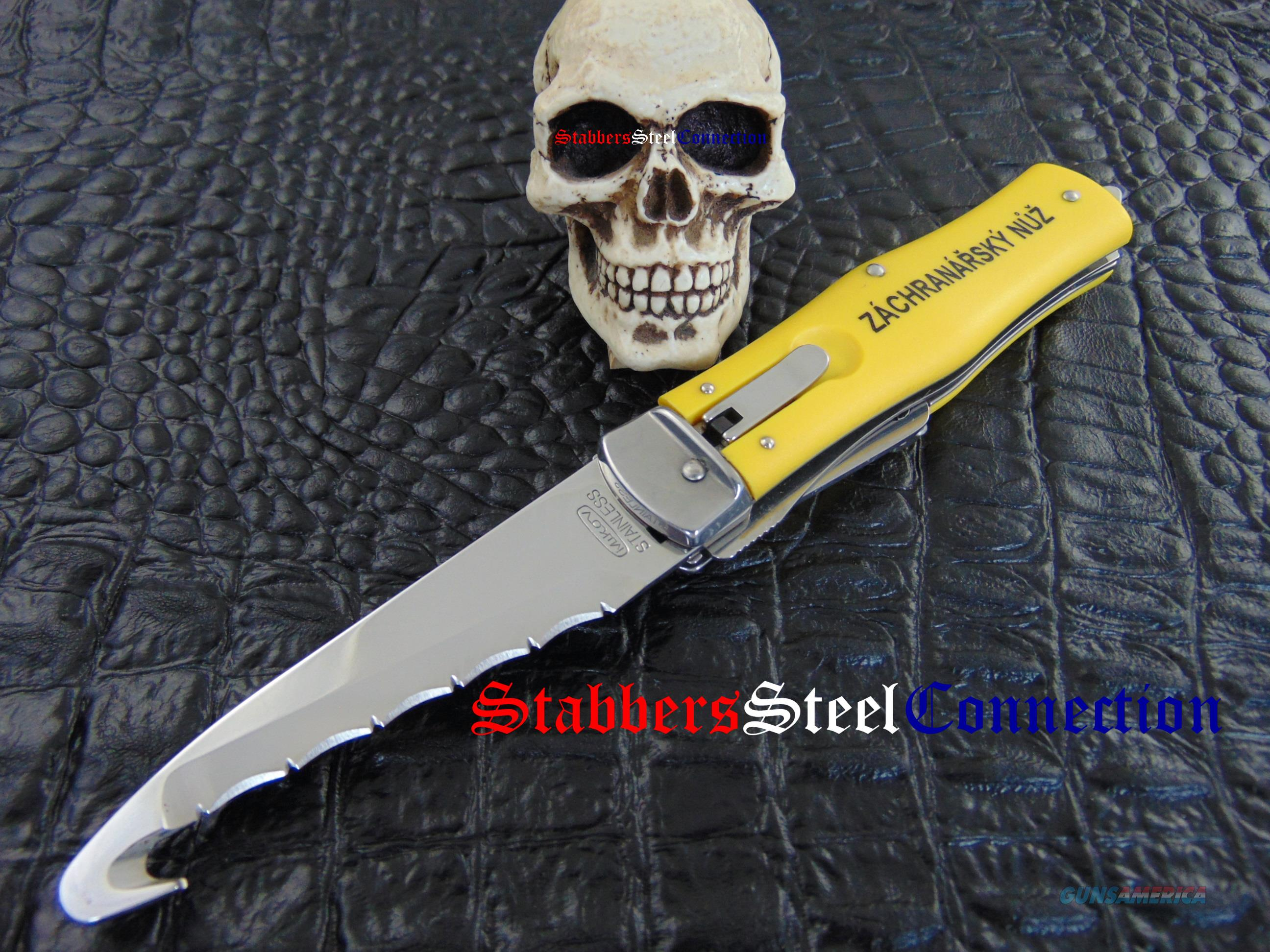 Mikov Knives Model 246 NH3 Rescue Lever Release Folder  Non-Guns > Knives/Swords > Knives > Folding Blade > Imported