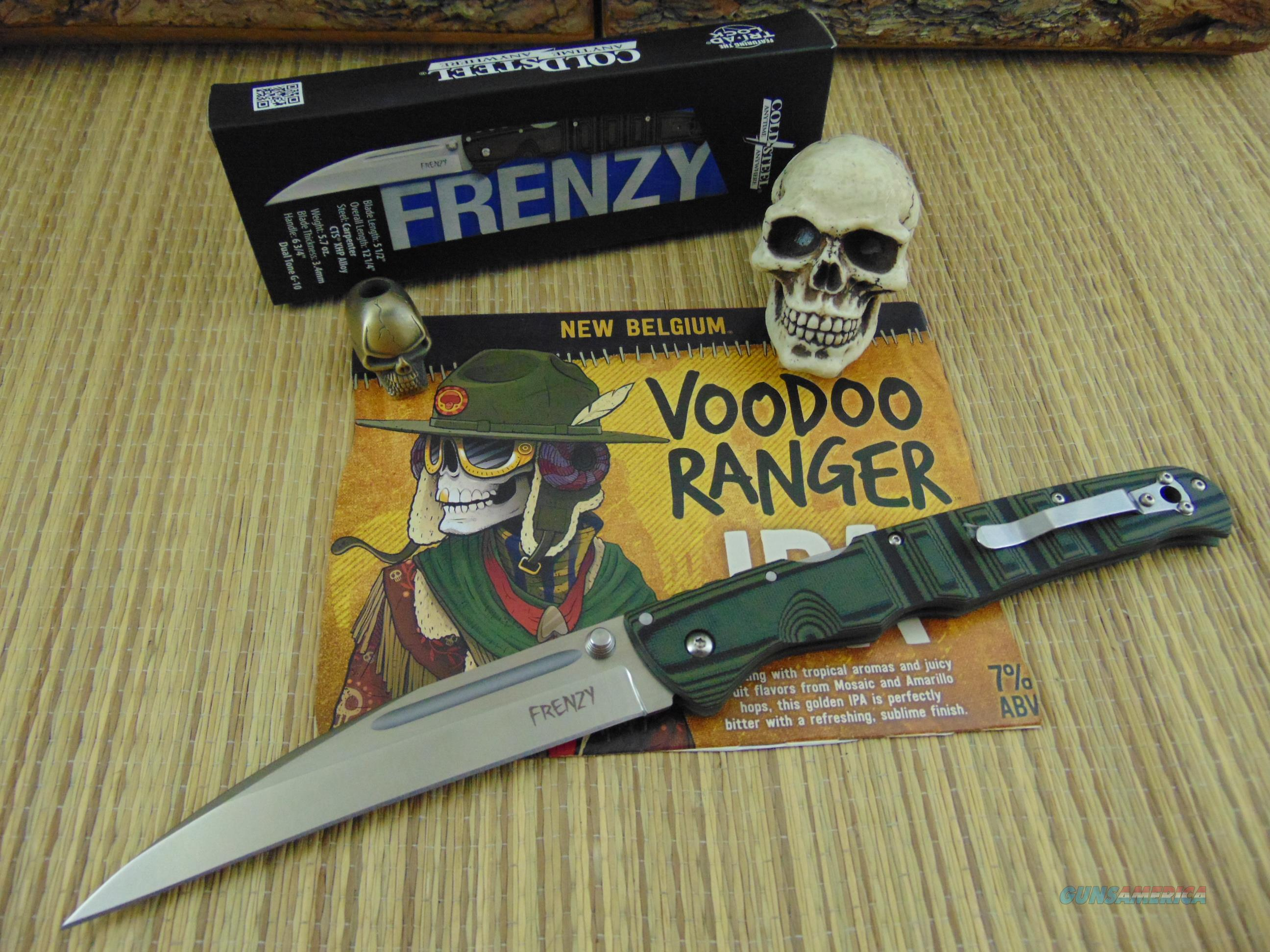 Cold Steel 62PV-1 Frenzy 1  Non-Guns > Knives/Swords > Knives > Folding Blade > Imported