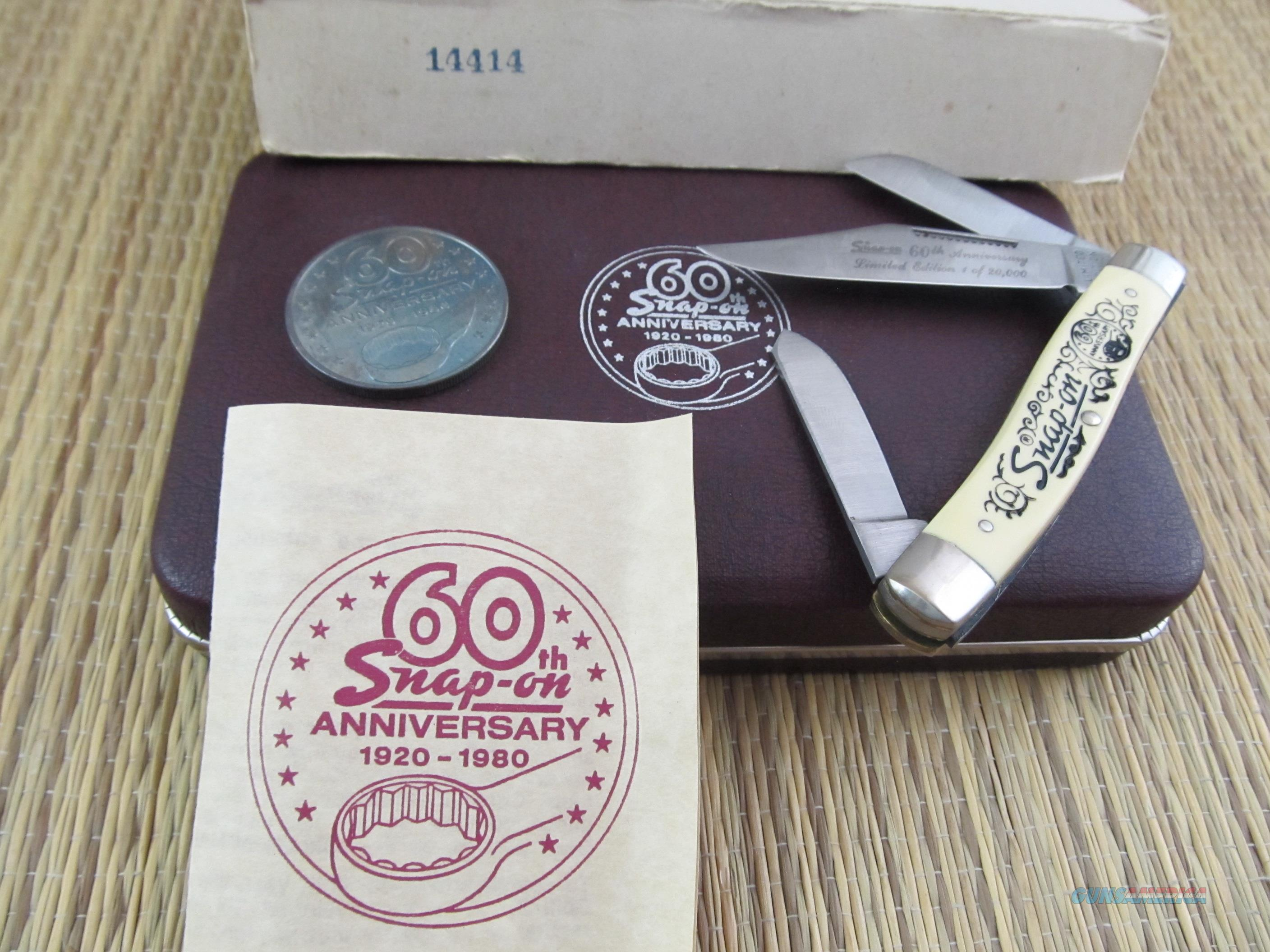 Limited Commemorative Edition Snap-On 60th Anniversary 1920 -1980  Non-Guns > Knives/Swords > Knives > Folding Blade > Hand Made
