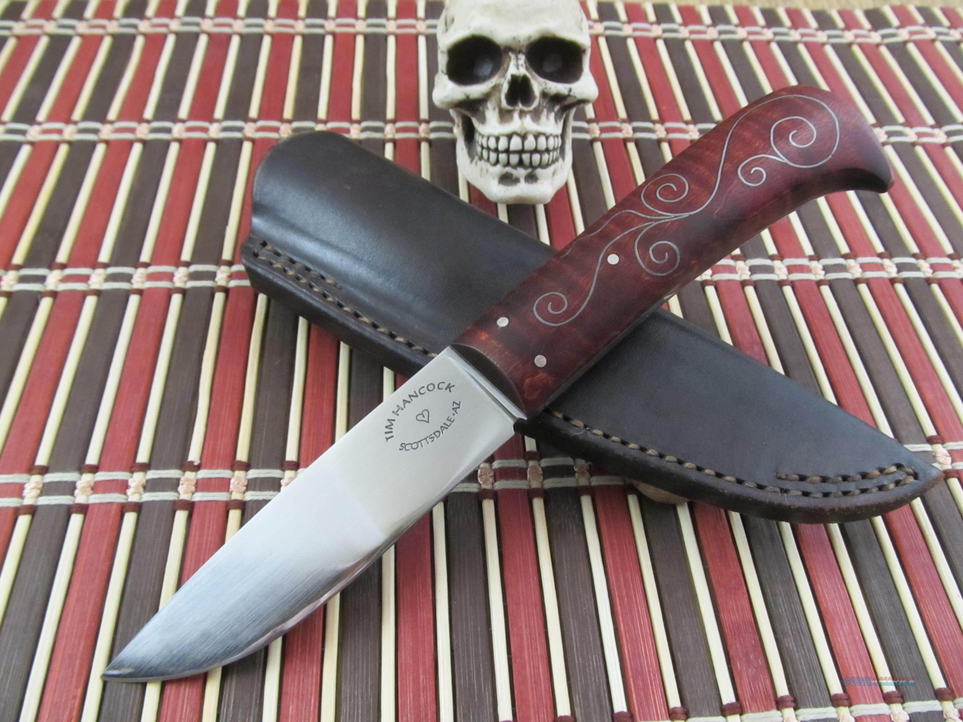 Tim Hancock MS ABS Master Smith Custom Handmade Hunter / EDC  Non-Guns > Knives/Swords > Knives > Fixed Blade > Hand Made