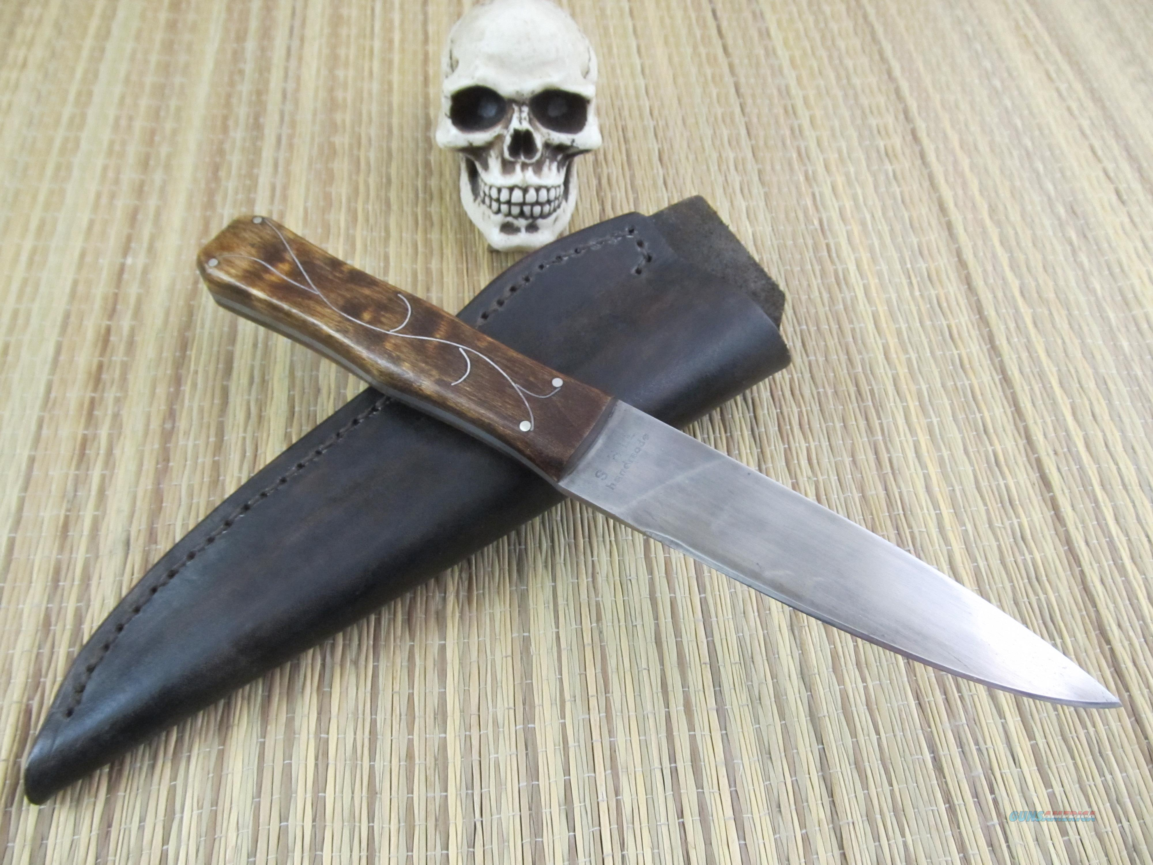 Steve Hill Knives Custom Handmade Period Dirk  Non-Guns > Knives/Swords > Knives > Fixed Blade > Hand Made