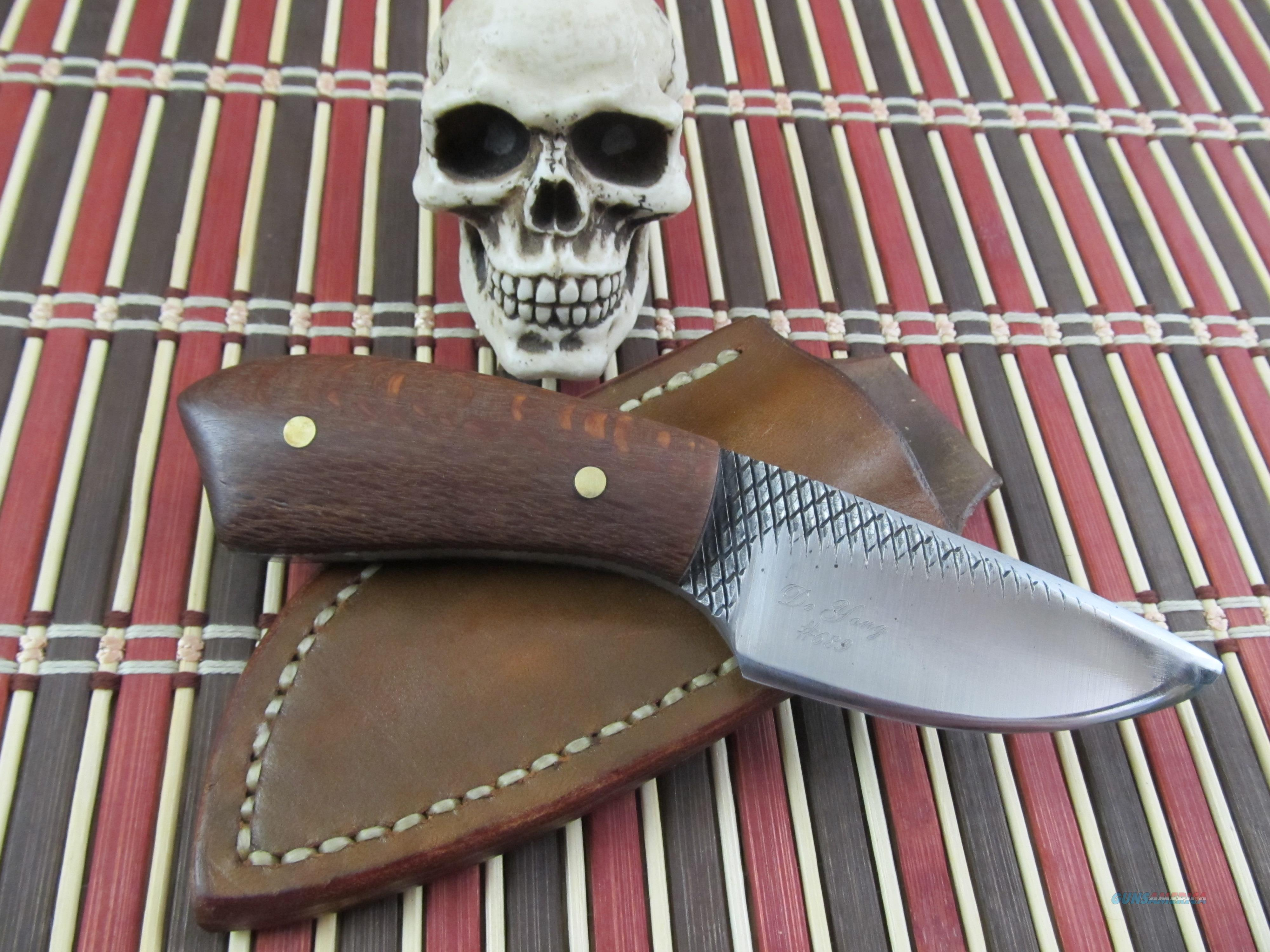 Clarence DeYoung Custom Handmade Hand Forged Hunter / EDC  Non-Guns > Knives/Swords > Knives > Fixed Blade > Hand Made