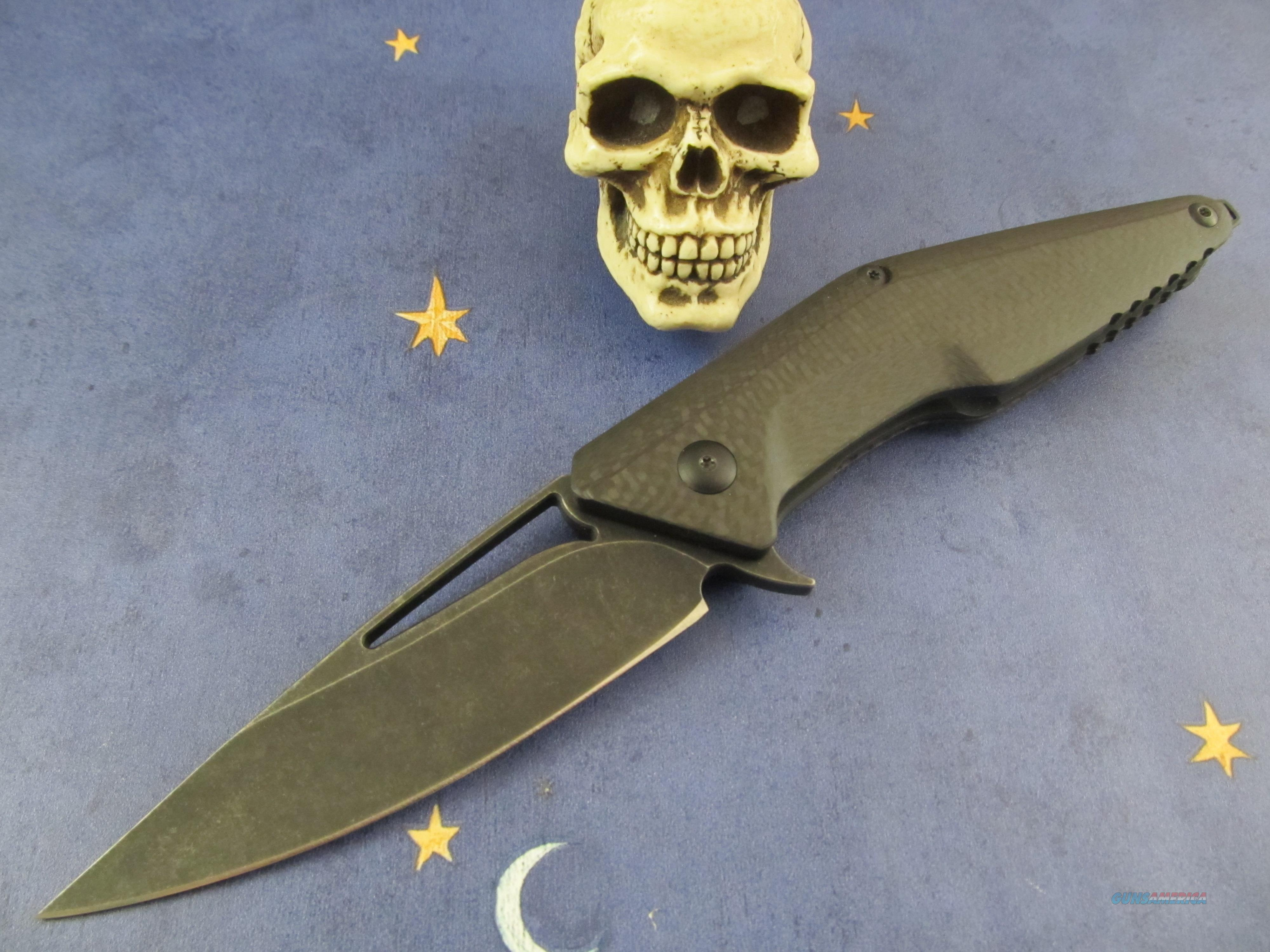 Brous Blades Division Flipper Folder  Non-Guns > Knives/Swords > Knives > Folding Blade > Hand Made