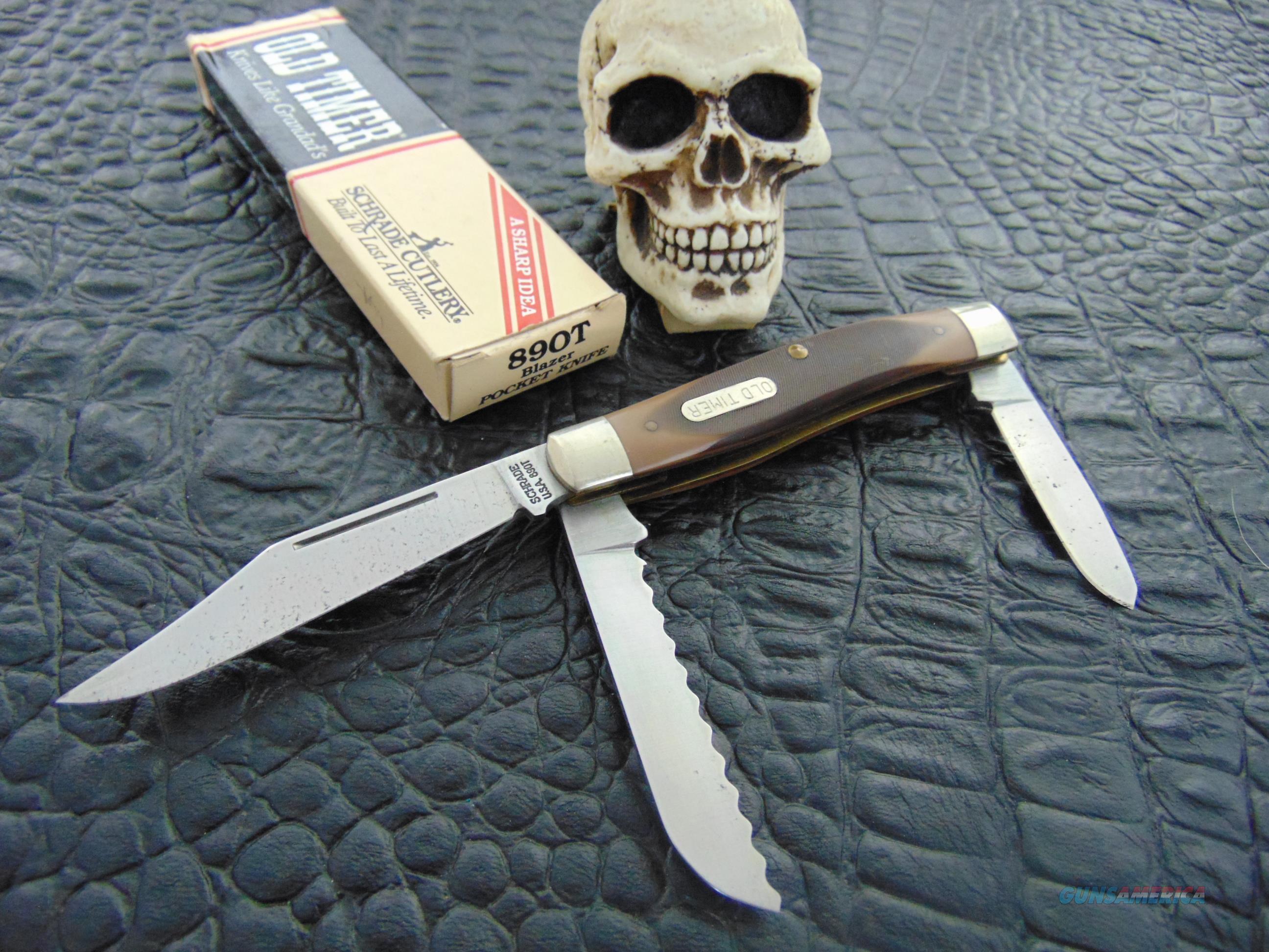 Schrade USA 890T Blazer  Non-Guns > Knives/Swords > Knives > Folding Blade > Hand Made