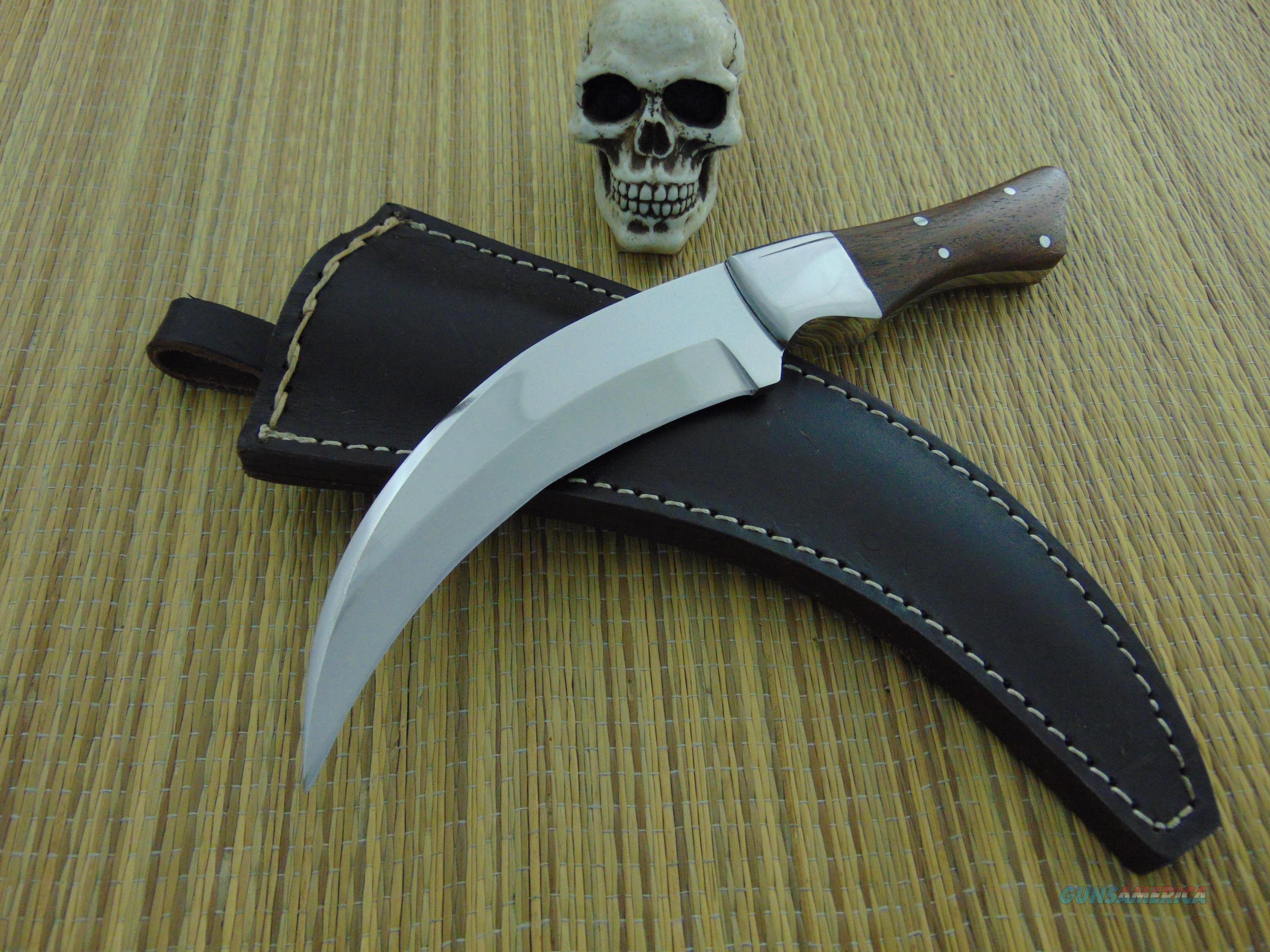 Unmarked Hawk Blade Fighter  Non-Guns > Knives/Swords > Knives > Fixed Blade > Hand Made