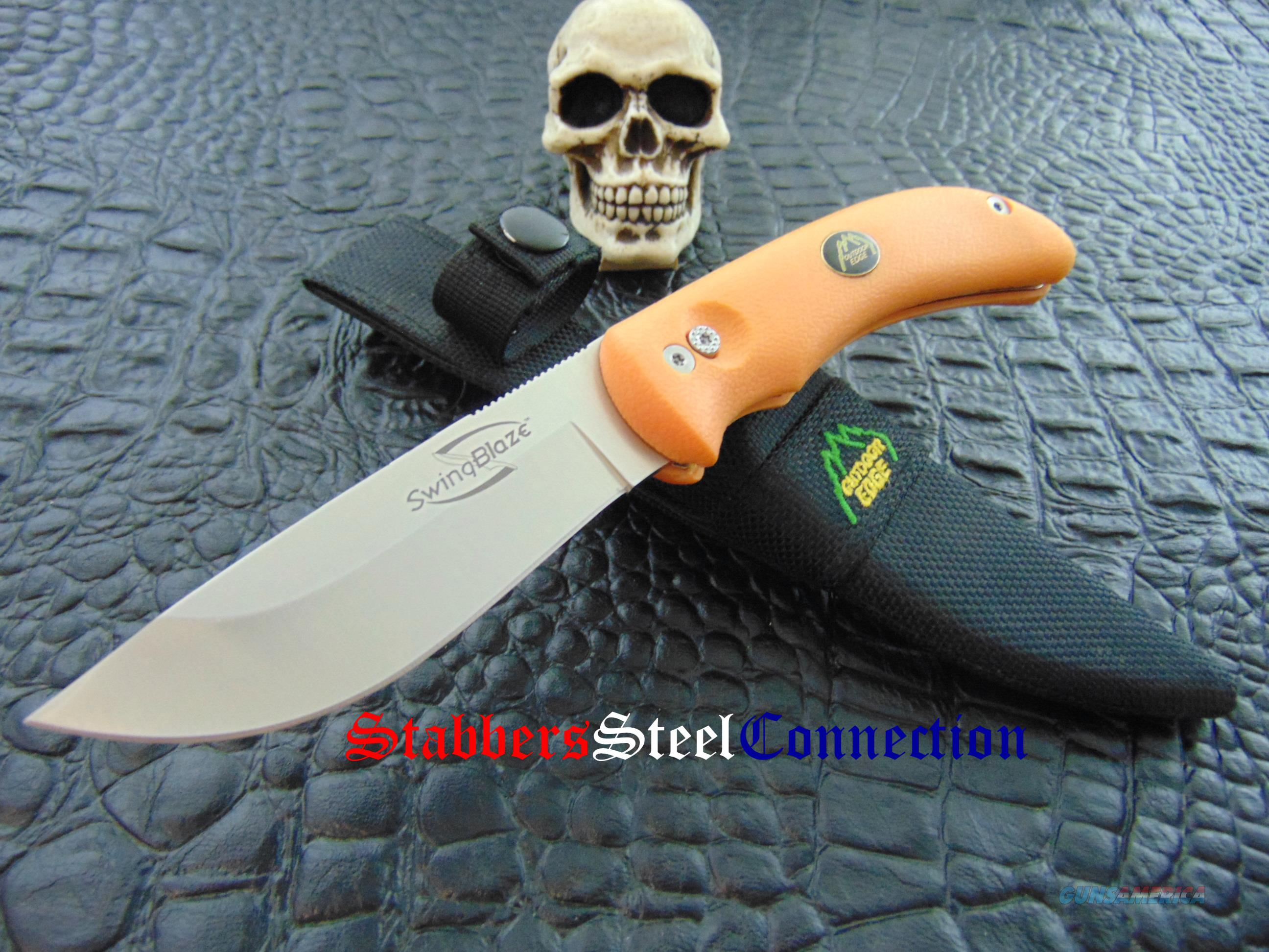 Outdoor Edge Knives SwingBlaze Hunting / Shinning Knife  Non-Guns > Knives/Swords > Knives > Fixed Blade > Hand Made