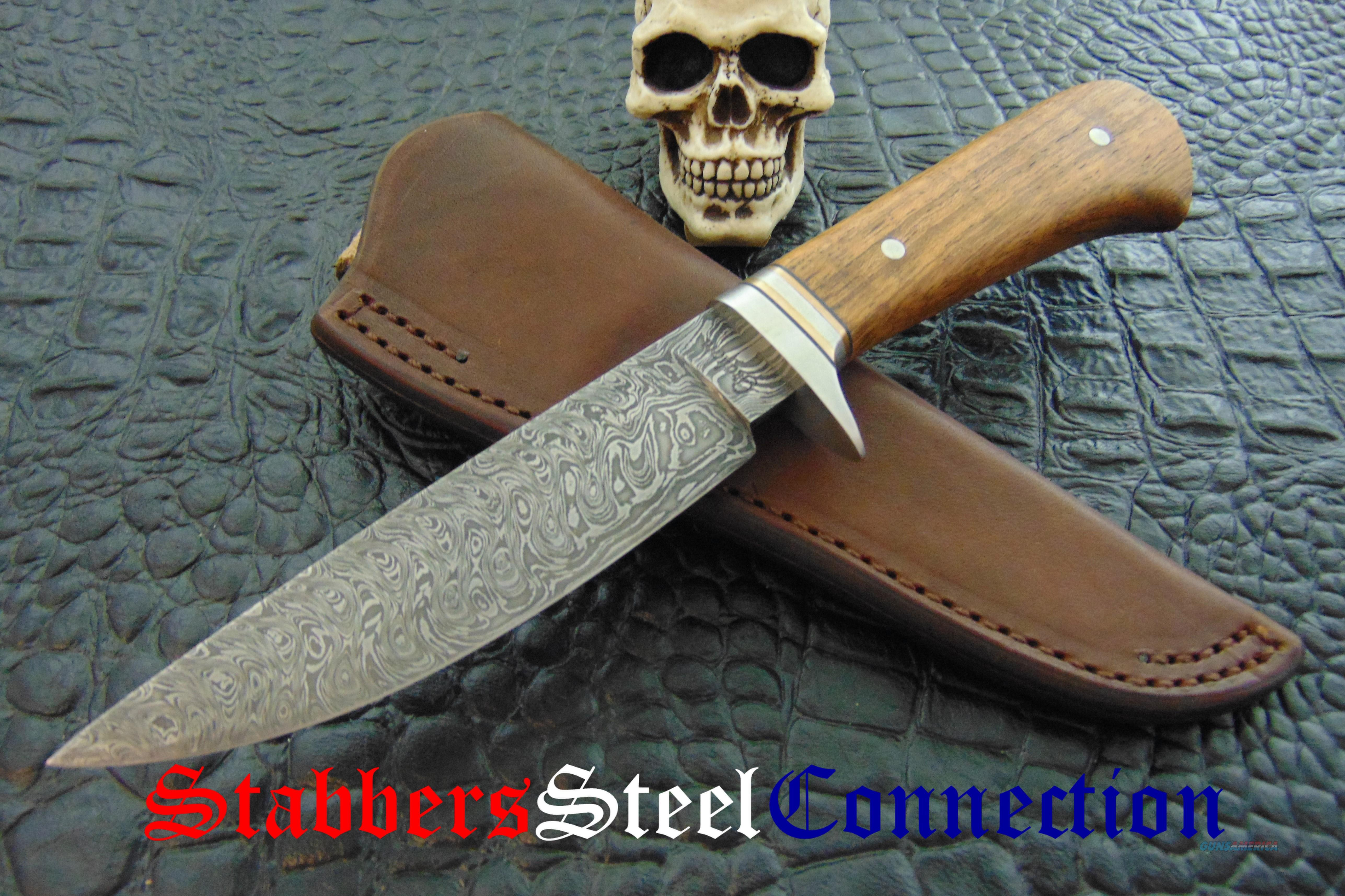 Gordon Graham JS Custom Handmade Damascus CC Hunter  Non-Guns > Knives/Swords > Knives > Fixed Blade > Hand Made