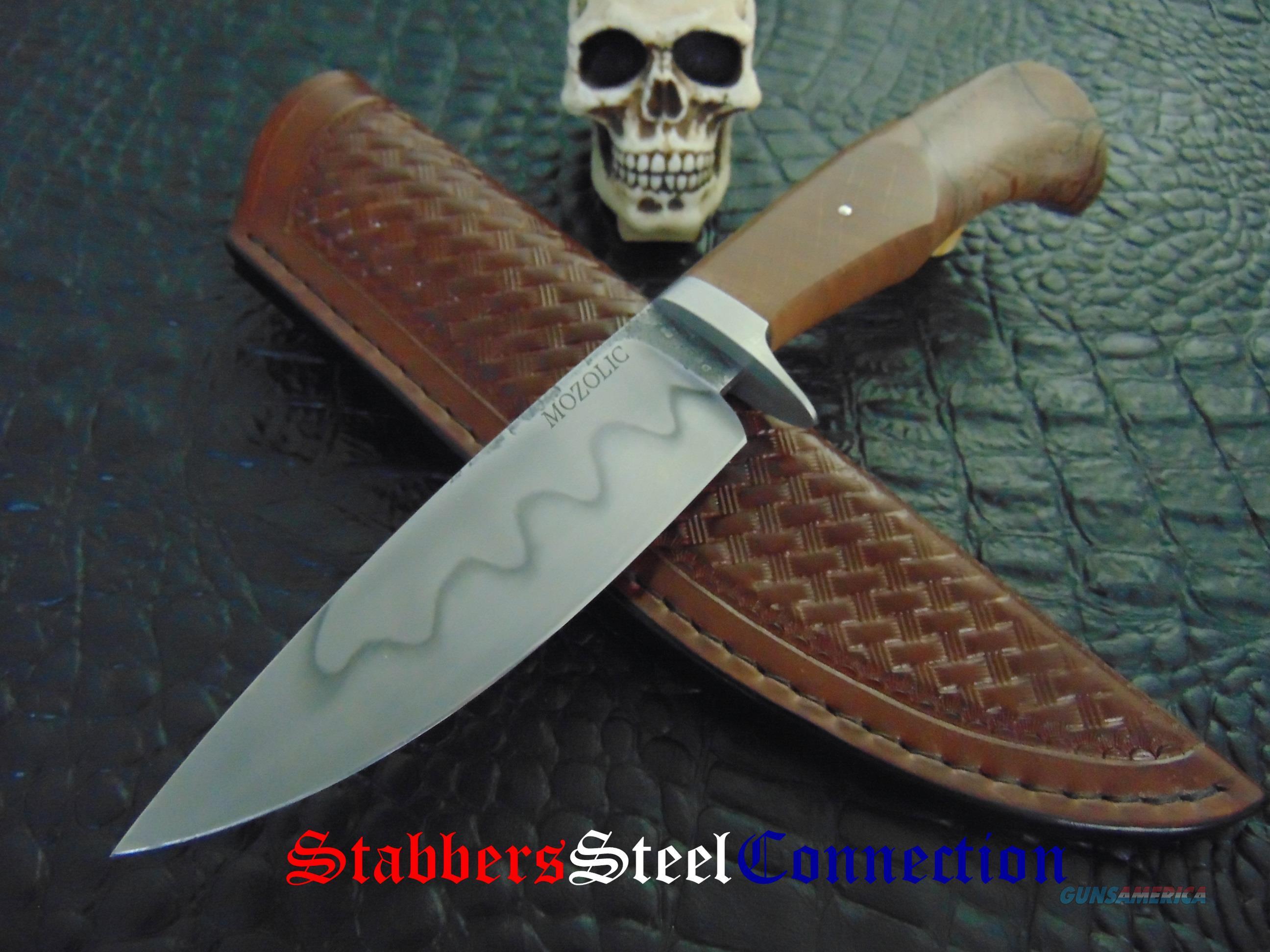 Milan Mozolic Of Dragon Knives Custom Handmade Hand Forged Hunting / EDC Knife  Non-Guns > Knives/Swords > Knives > Fixed Blade > Hand Made