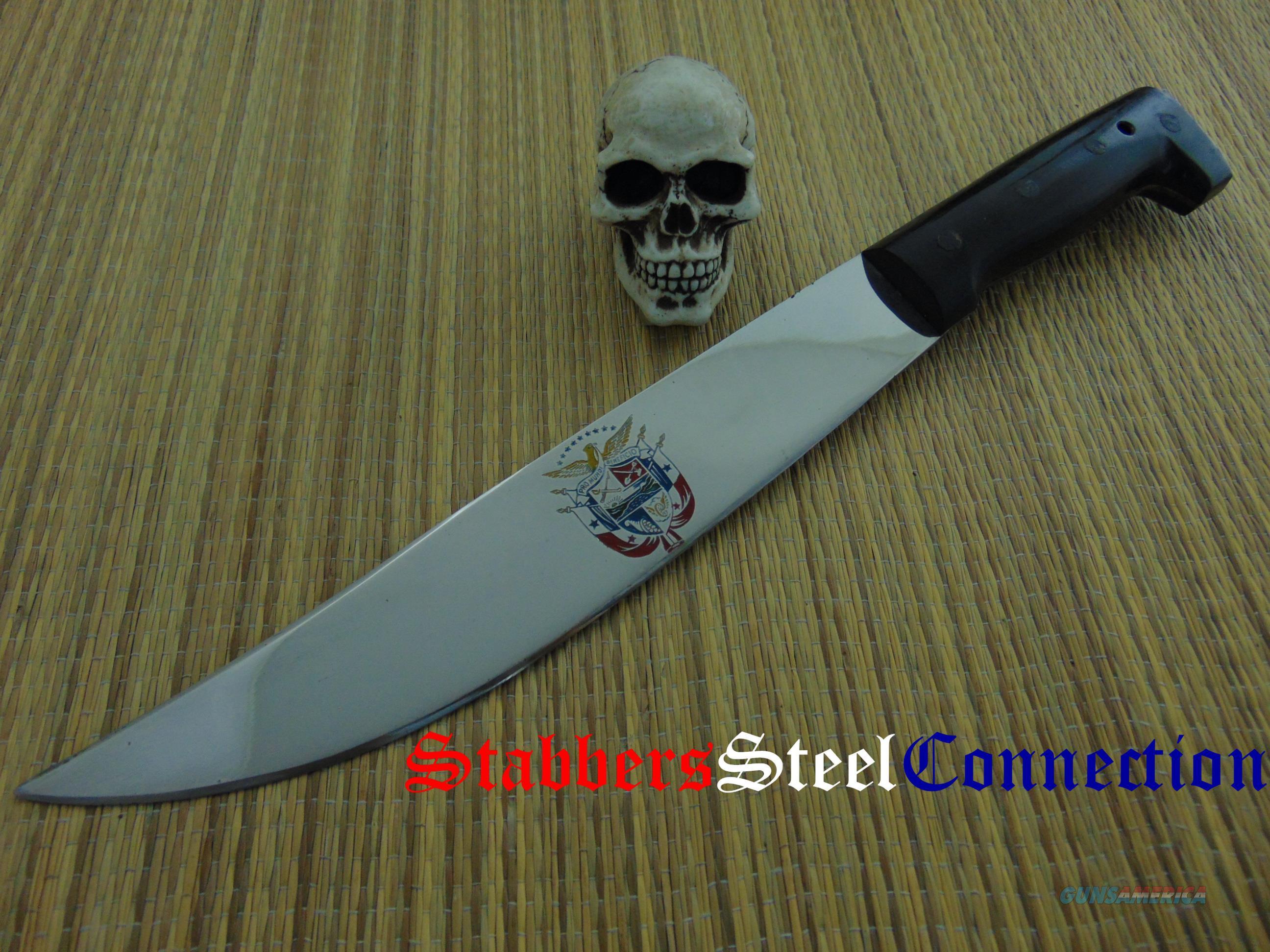 El Salvador Machete IMACASA mfg El Salvador National Crest  Non-Guns > Knives/Swords > Knives > Fixed Blade > Imported