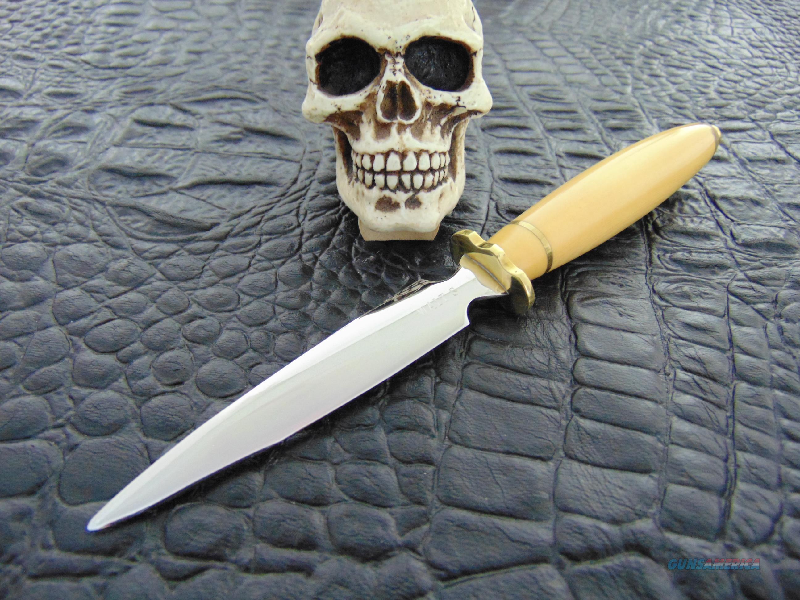 Walter Stockdale Custom Handmade Gorgeous Dagger  Non-Guns > Knives/Swords > Knives > Fixed Blade > Hand Made