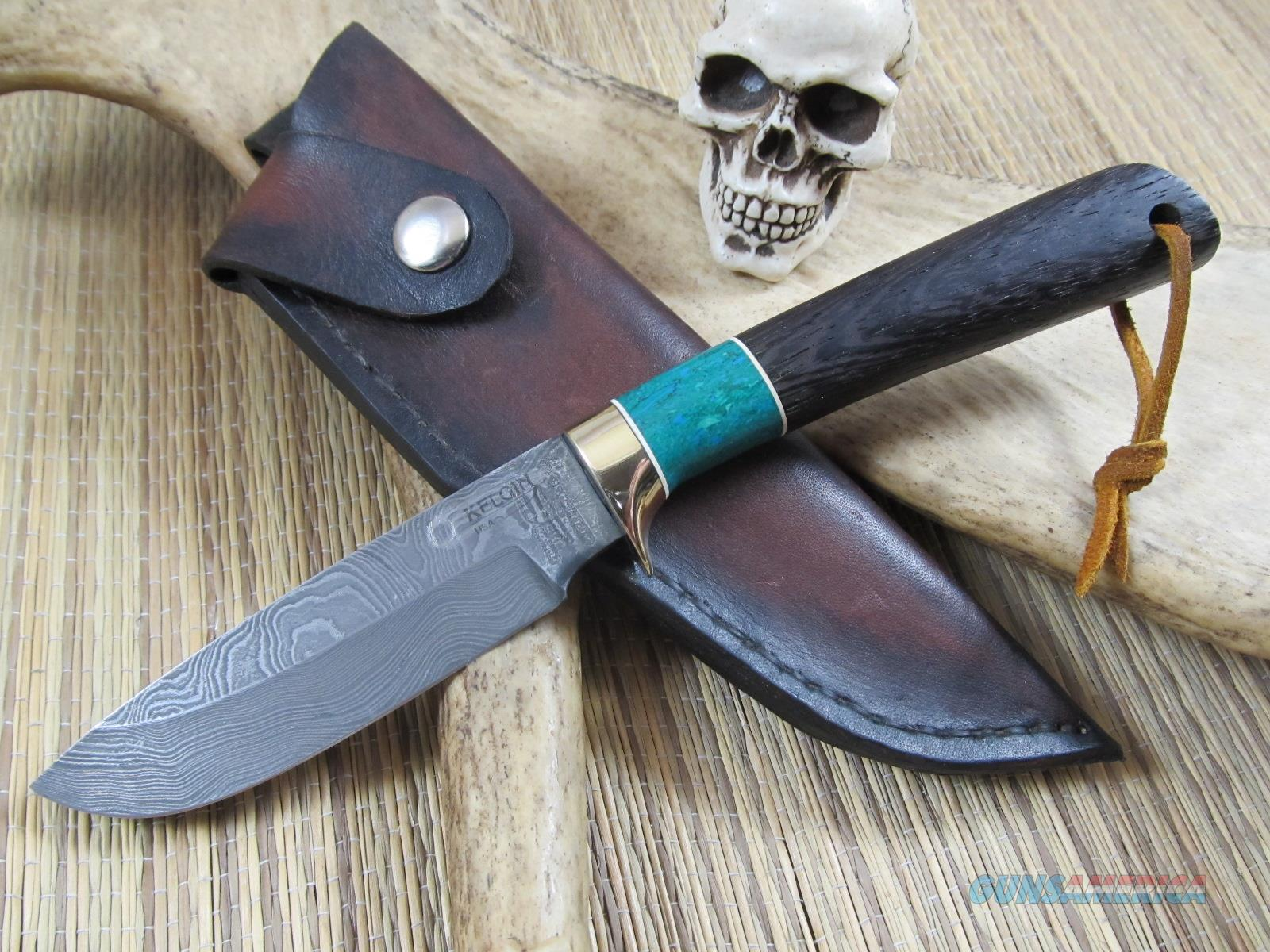 Kelgin Knives Ken Largin Owner, Knife Maker Damascus Hunter  Non-Guns > Knives/Swords > Knives > Fixed Blade > Hand Made