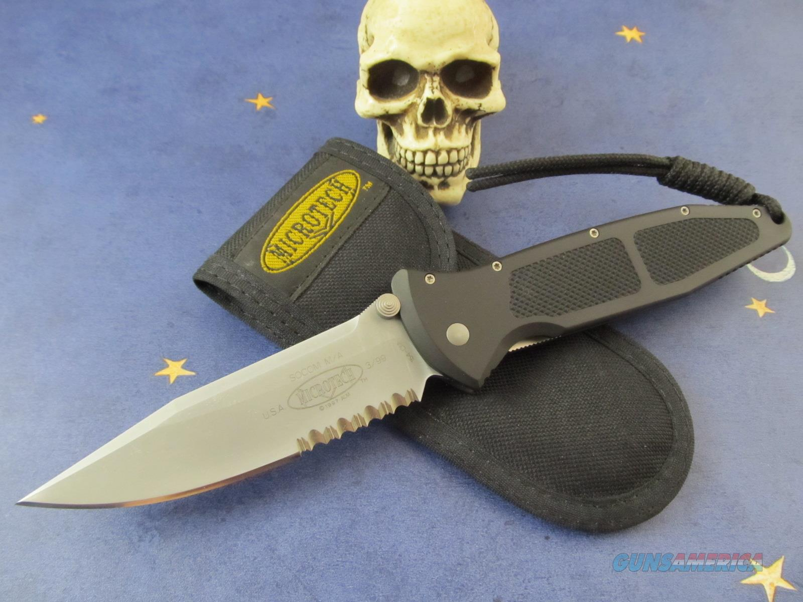 Microtech Knives SOCOM Full Size Made in Vero Beach FL  Non-Guns > Knives/Swords > Knives > Folding Blade > Hand Made