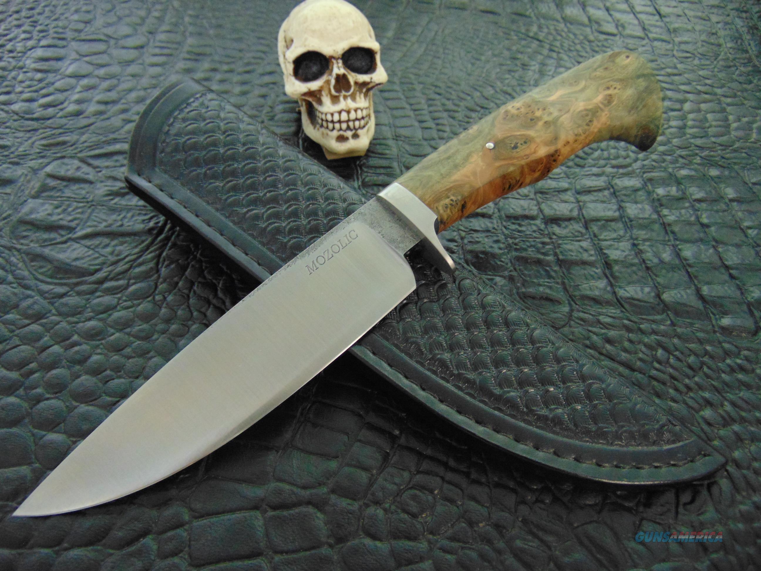 Milan Mozolic Custom Handmade Hand Forged Fighter, Hunting / EDC Knife  Non-Guns > Knives/Swords > Knives > Fixed Blade > Hand Made
