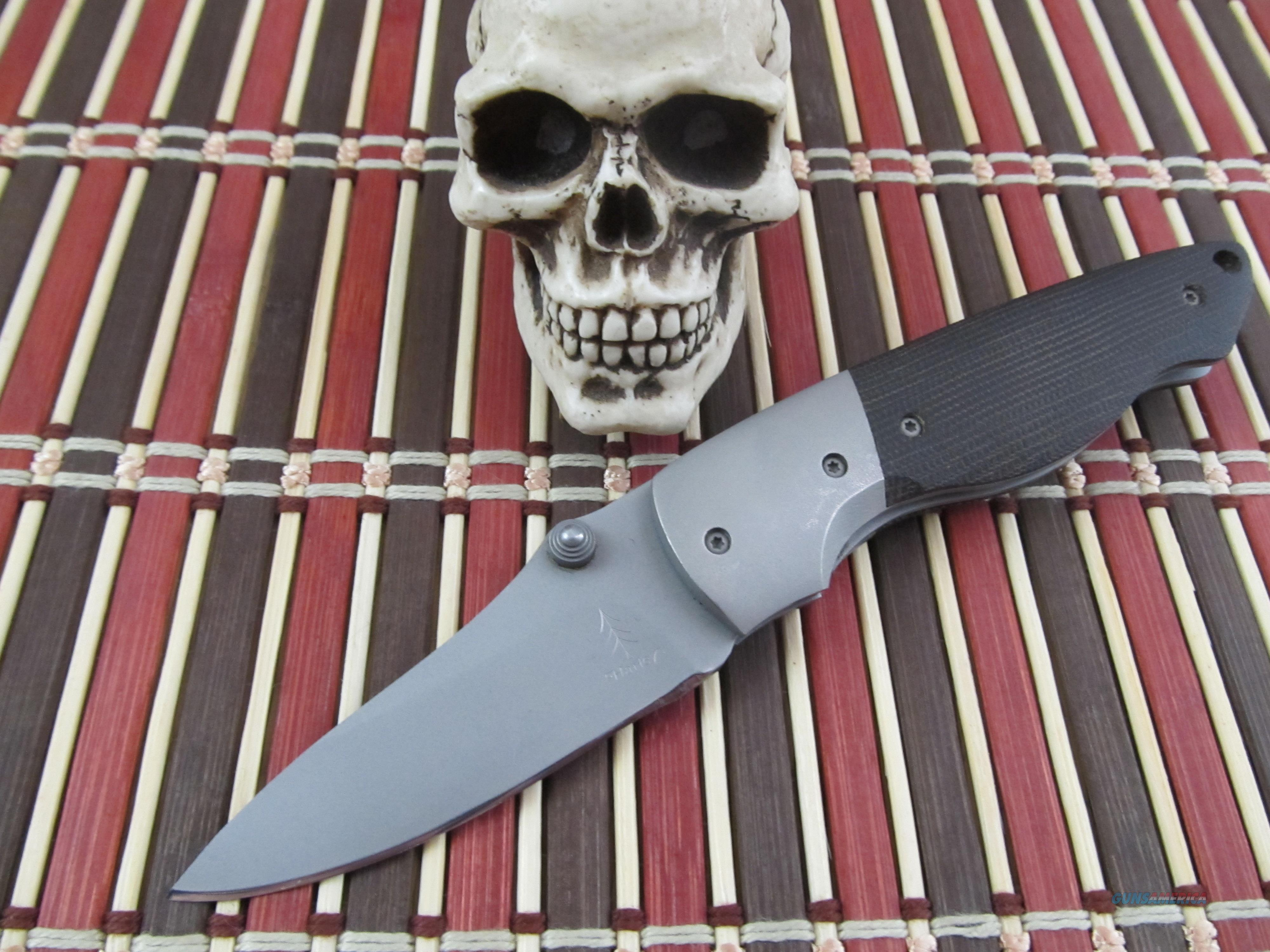 "Larry ""The Hammer"" Harley / Lonesome Pines Knives Custom Handmade RARE Folder  Non-Guns > Knives/Swords > Knives > Folding Blade > Hand Made"