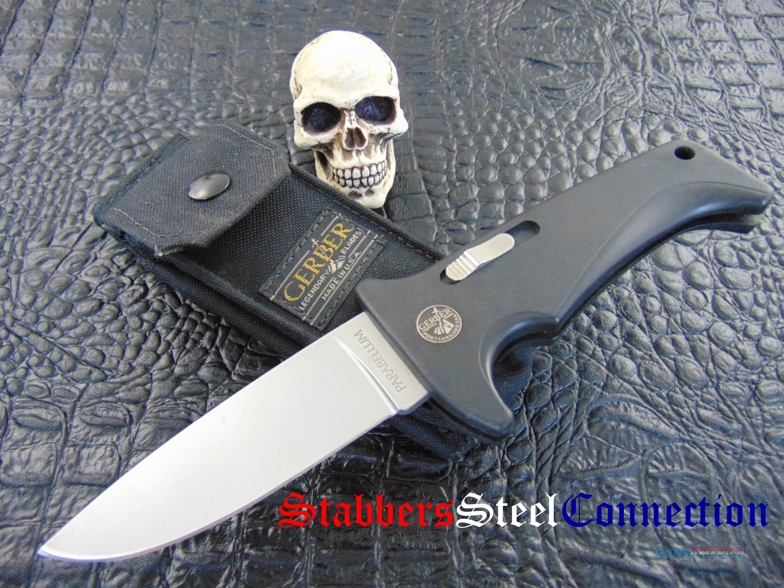 Gerber Vintage Blackie Collins Design Parabellum Bolt Action Folder  Non-Guns > Knives/Swords > Knives > Folding Blade > Hand Made