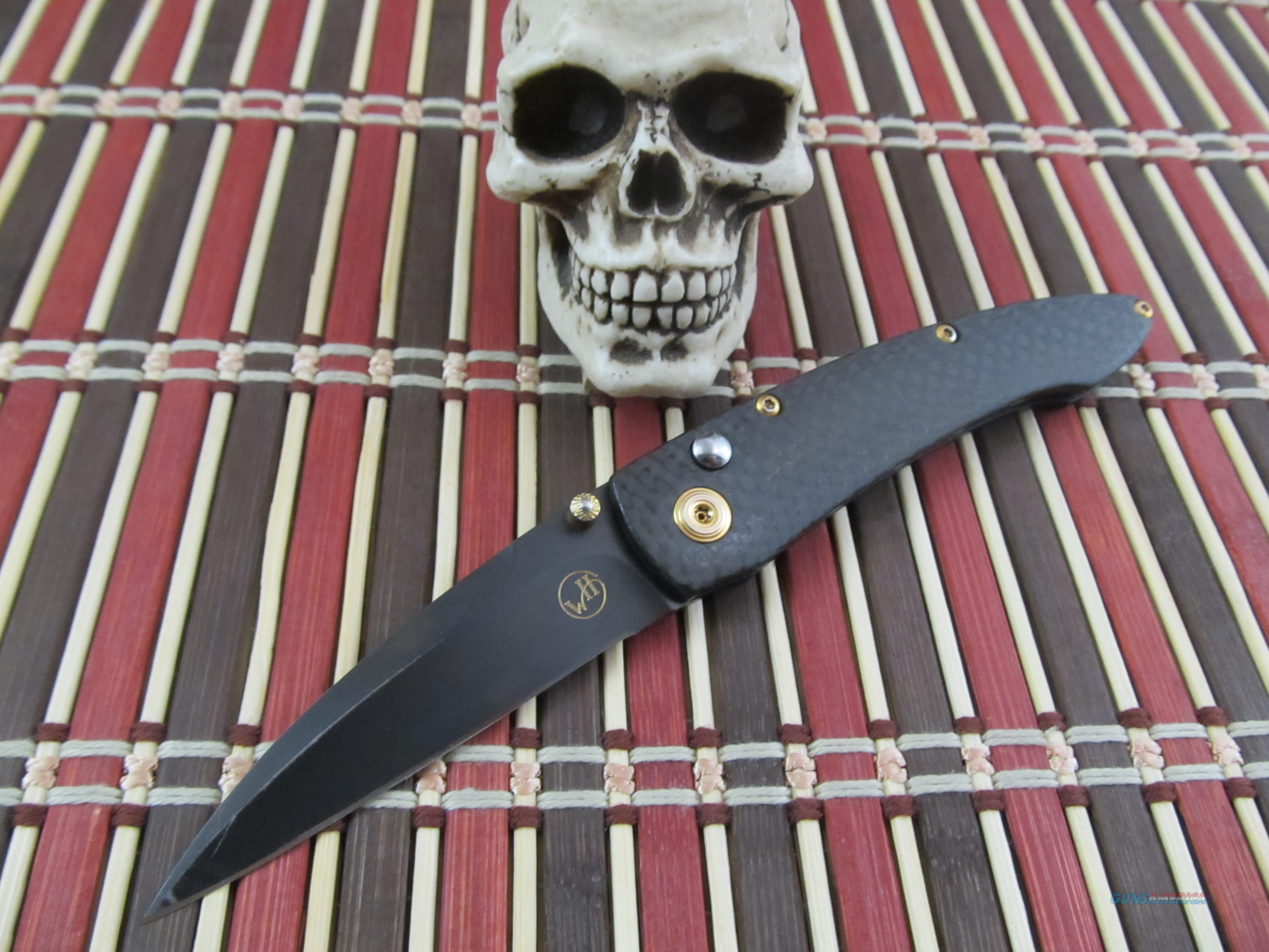 William Henry Fine Knives Model  B07 BT CF  Non-Guns > Knives/Swords > Knives > Folding Blade > Hand Made