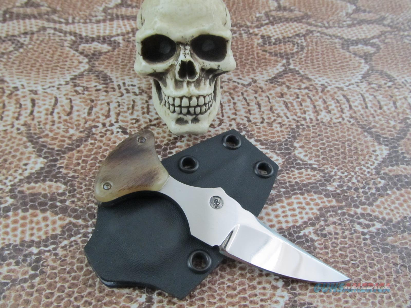 Gerald Vessella Custom Made Push Dagger  Non-Guns > Knives/Swords > Knives > Fixed Blade > Hand Made