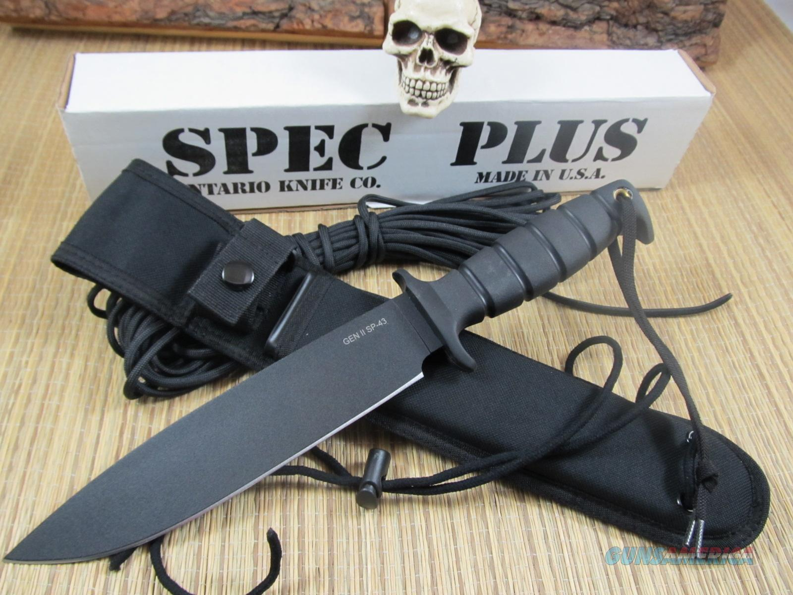 Ontario Knives Spec Plus GEN ll SP-43  Non-Guns > Knives/Swords > Knives > Fixed Blade > Imported