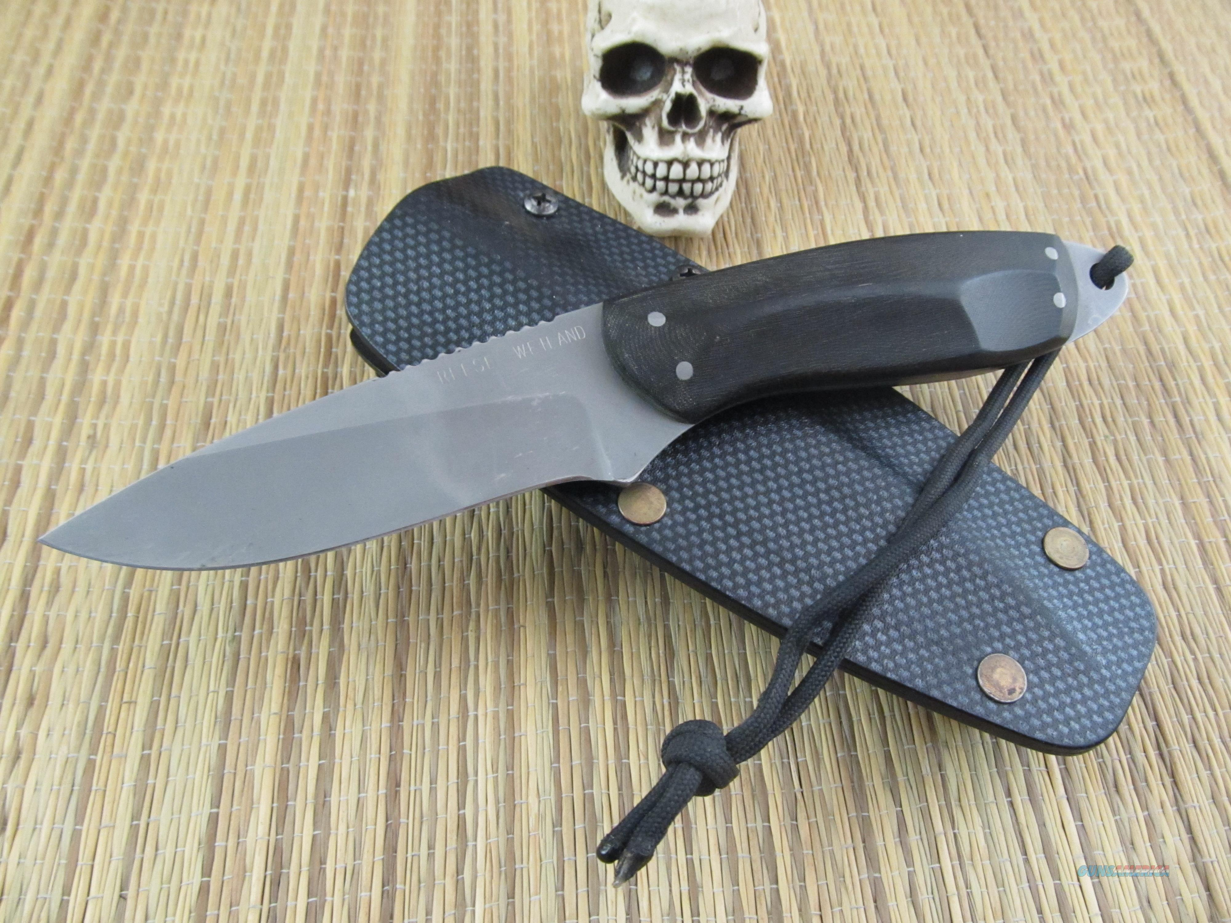Reese Weiland Custom Handmade Fighter / EDC  Non-Guns > Knives/Swords > Knives > Fixed Blade > Hand Made