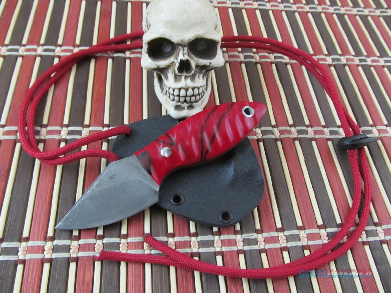 Matt DeClercq Custom Handmade 1084 High Carbon Steel Blade  Non-Guns > Knives/Swords > Knives > Fixed Blade > Hand Made