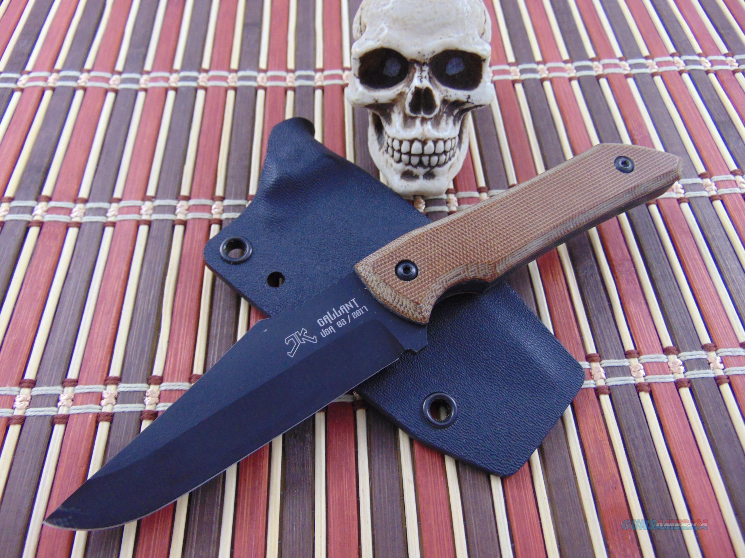 JK Design / Julian Klein Custom Handmade EDC / Hunter  Non-Guns > Knives/Swords > Knives > Fixed Blade > Hand Made