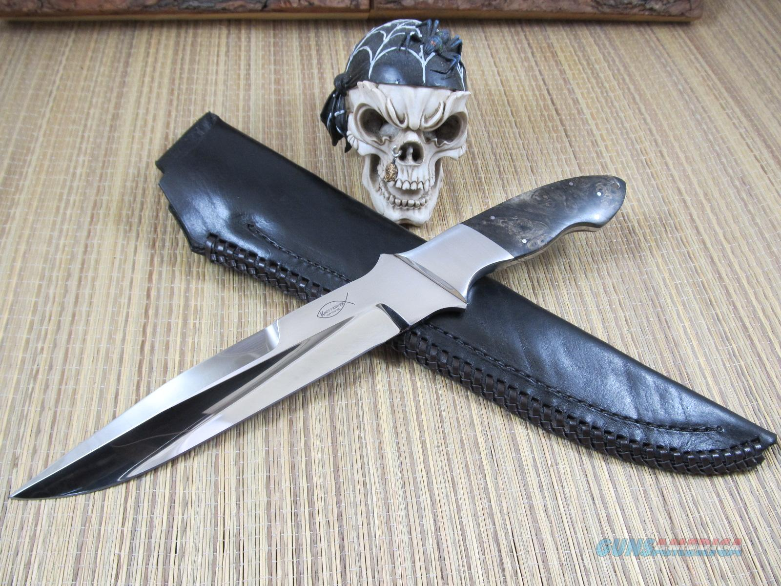 Steve Knott Custom Fighter  Non-Guns > Knives/Swords > Knives > Fixed Blade > Hand Made
