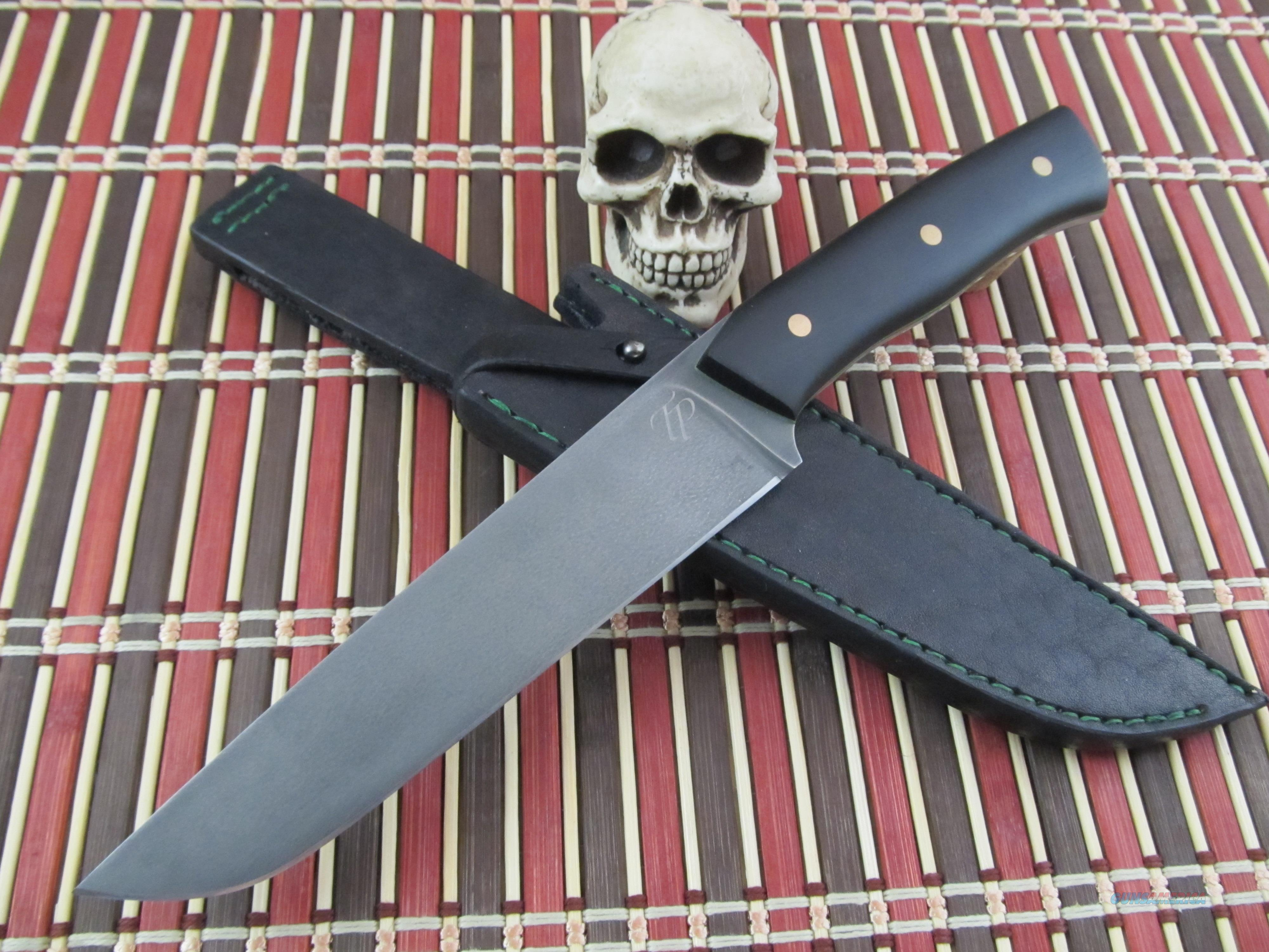 Tomas Peszeki Custom Handmade New From Maker Hunter / Fighter  Non-Guns > Knives/Swords > Knives > Fixed Blade > Hand Made