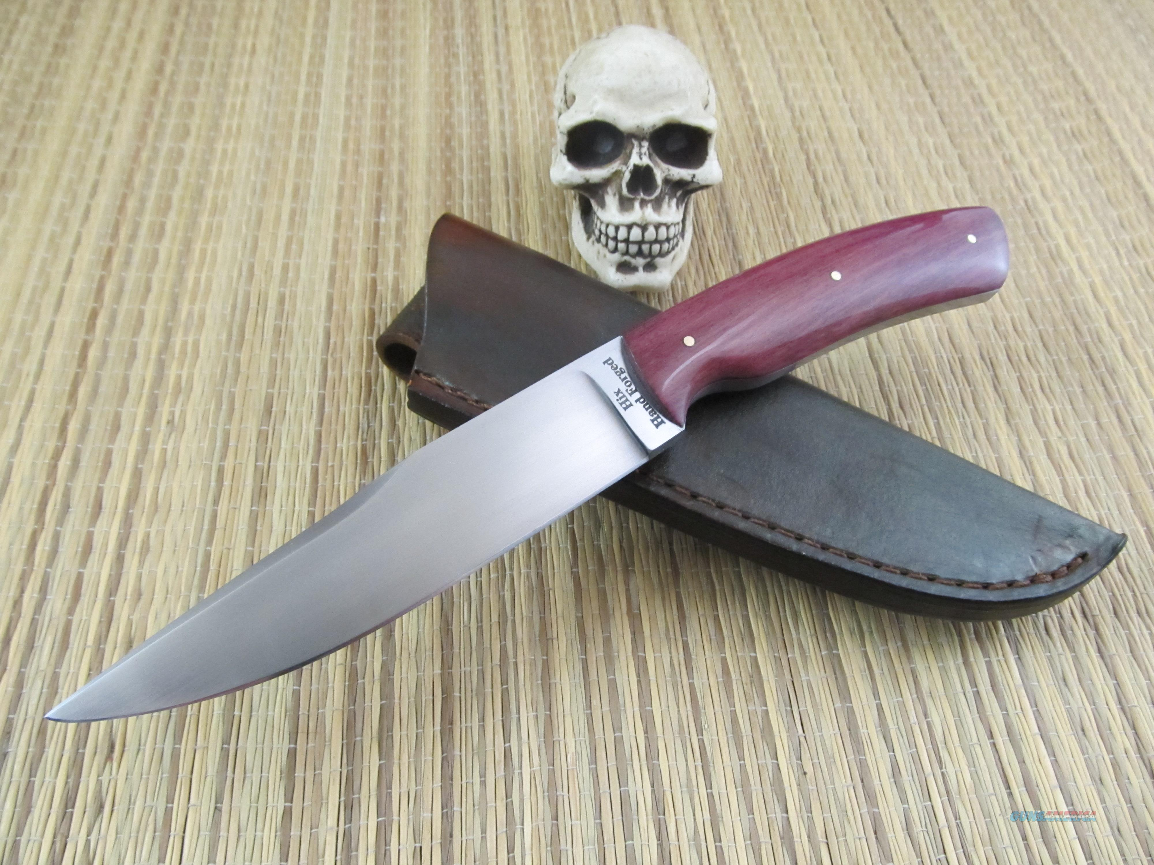 Kent Hix, Hix Hand Forged JS / Journeyman Smith Hand Forged Hunter / EDC  Non-Guns > Knives/Swords > Knives > Fixed Blade > Hand Made
