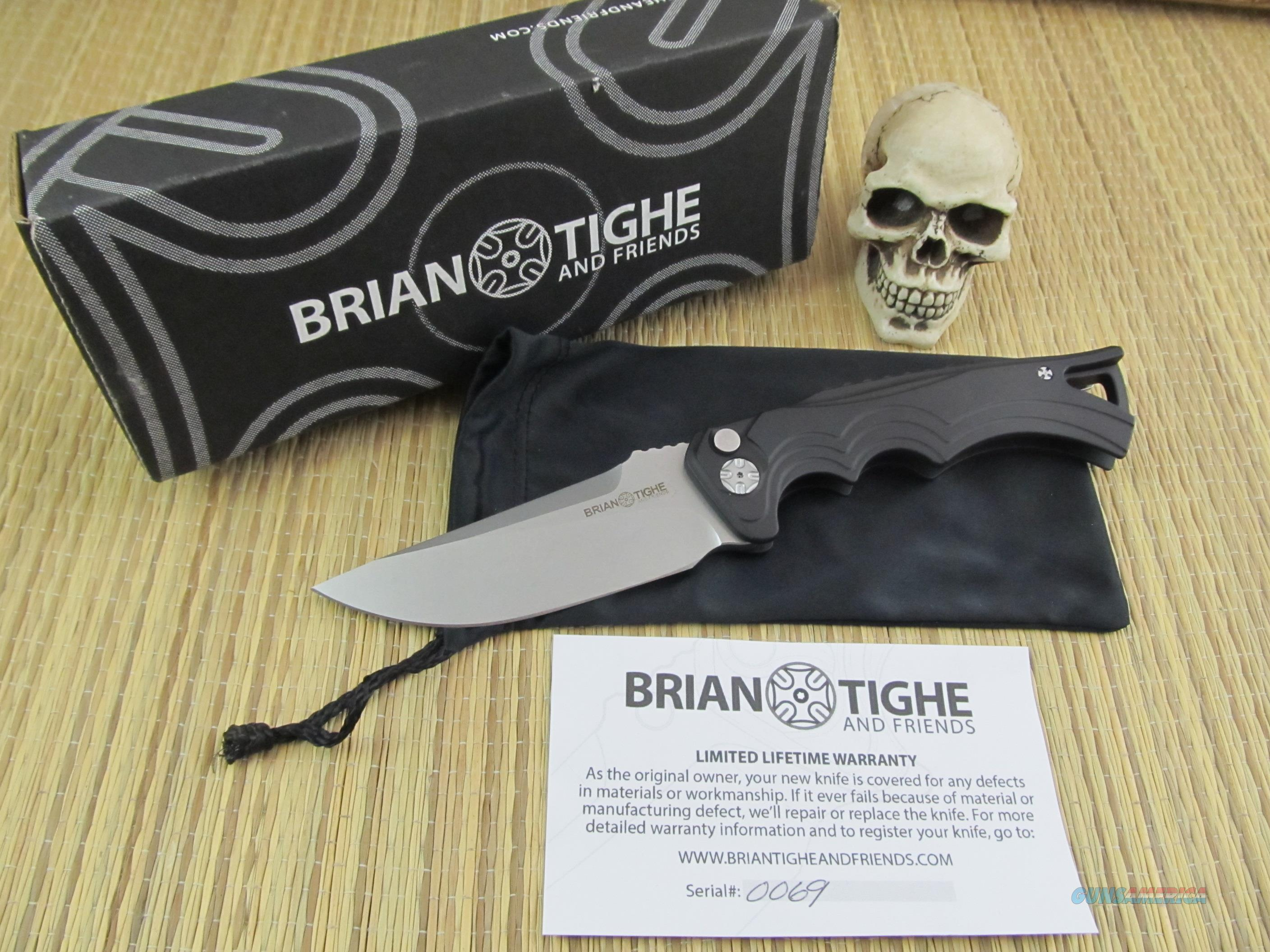 Brian Tighe and Friends Clip Point Auto  Non-Guns > Knives/Swords > Knives > Fixed Blade > Hand Made