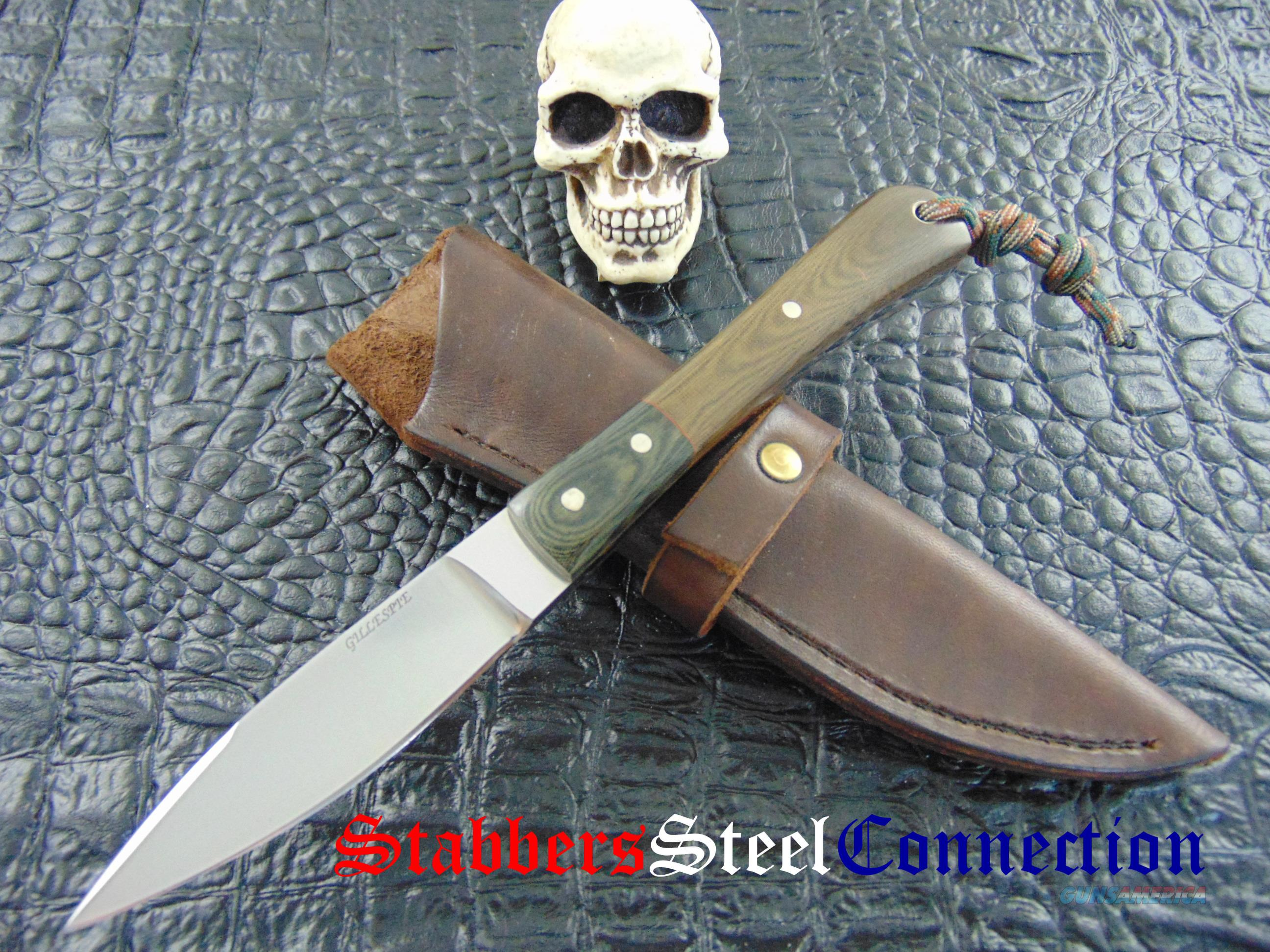 Bruce Gillespie Custom hand Made EDC / Hunting Knife  Non-Guns > Knives/Swords > Knives > Fixed Blade > Hand Made