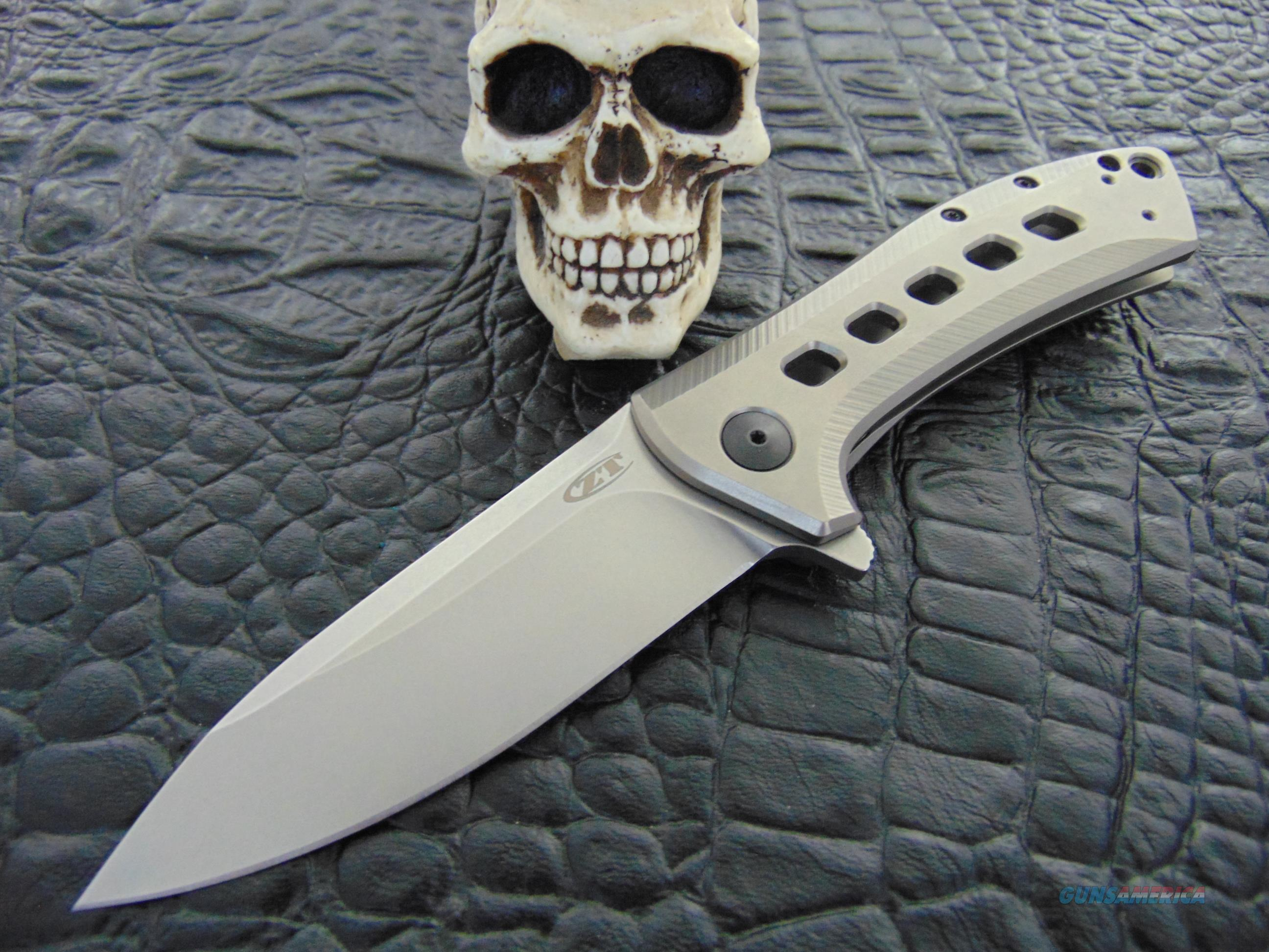 Zero Tolerance Knives Model 0801-TI Tod Rexford Design  Non-Guns > Knives/Swords > Knives > Folding Blade > Hand Made