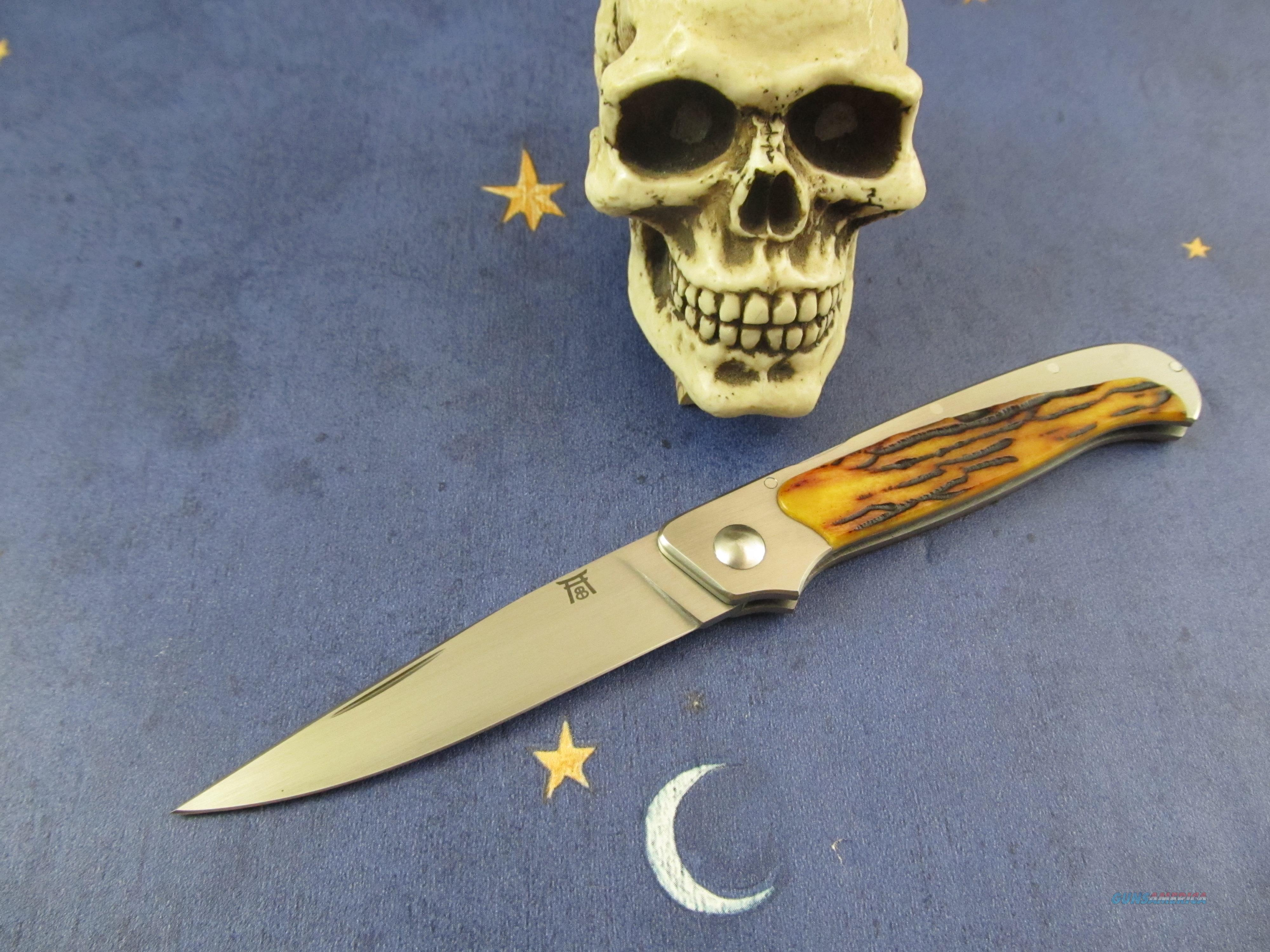 Bailey Bradshaw MS Gentleman's Front Lock Back Folder  Non-Guns > Knives/Swords > Knives > Folding Blade > Hand Made