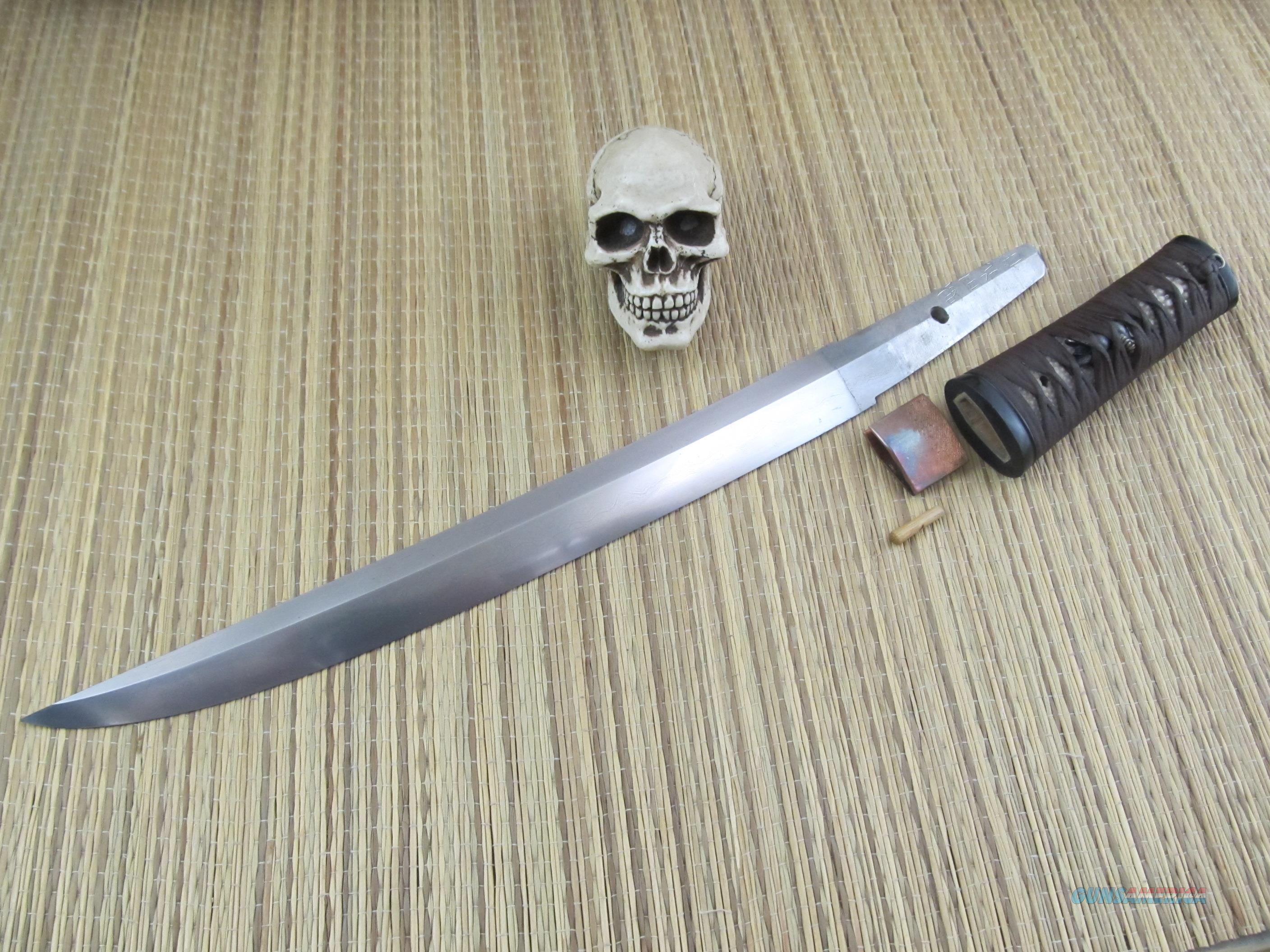 Dragon Fly Forge Michael Bell Master Swordsmith Shobuzukuri Pattern Japanese Style Tanto  Non-Guns > Knives/Swords > Knives > Fixed Blade > Hand Made