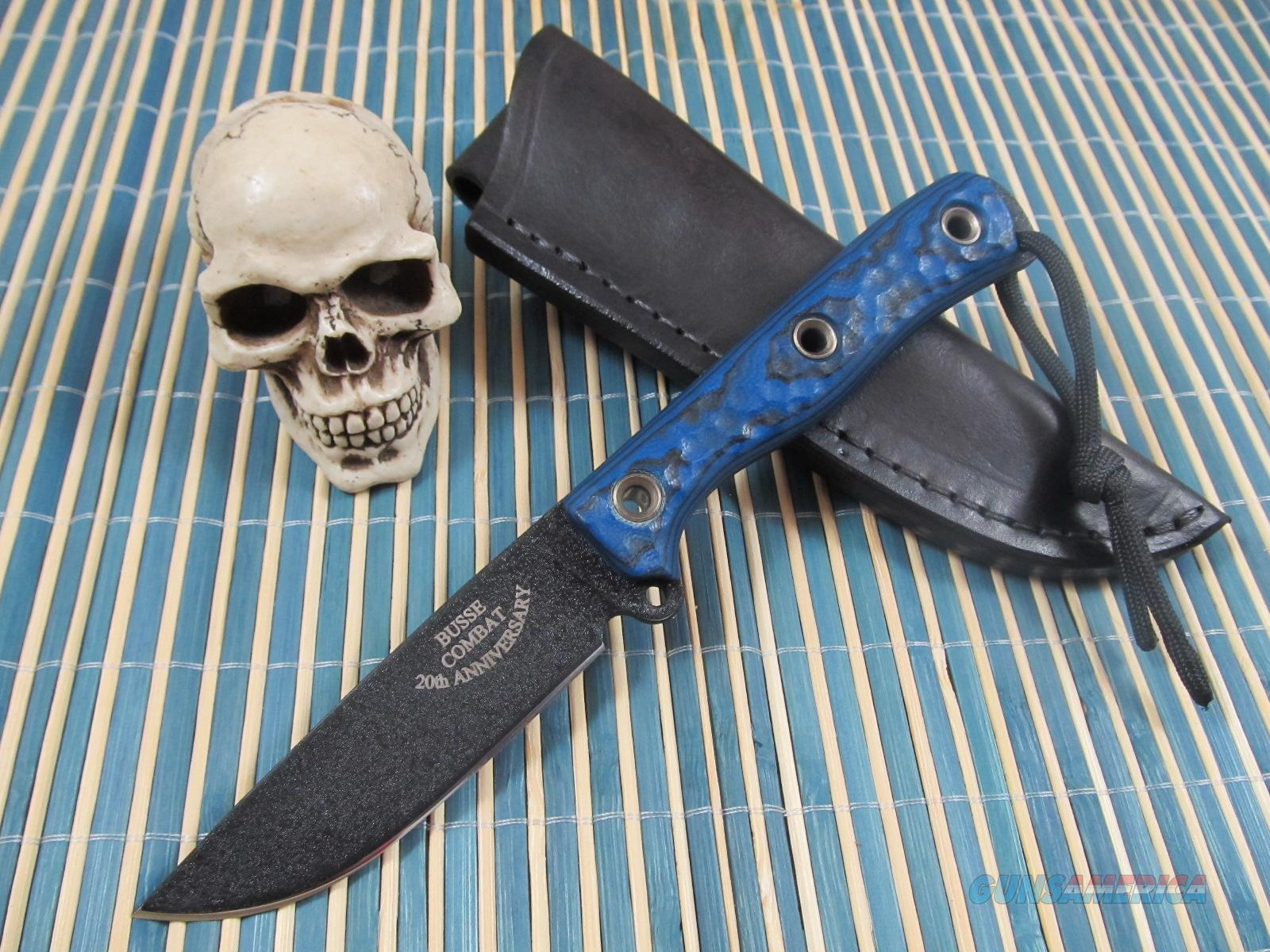 Busse Combat Knives 20th Anniversary Mean Street  Non-Guns > Knives/Swords > Knives > Fixed Blade > Hand Made