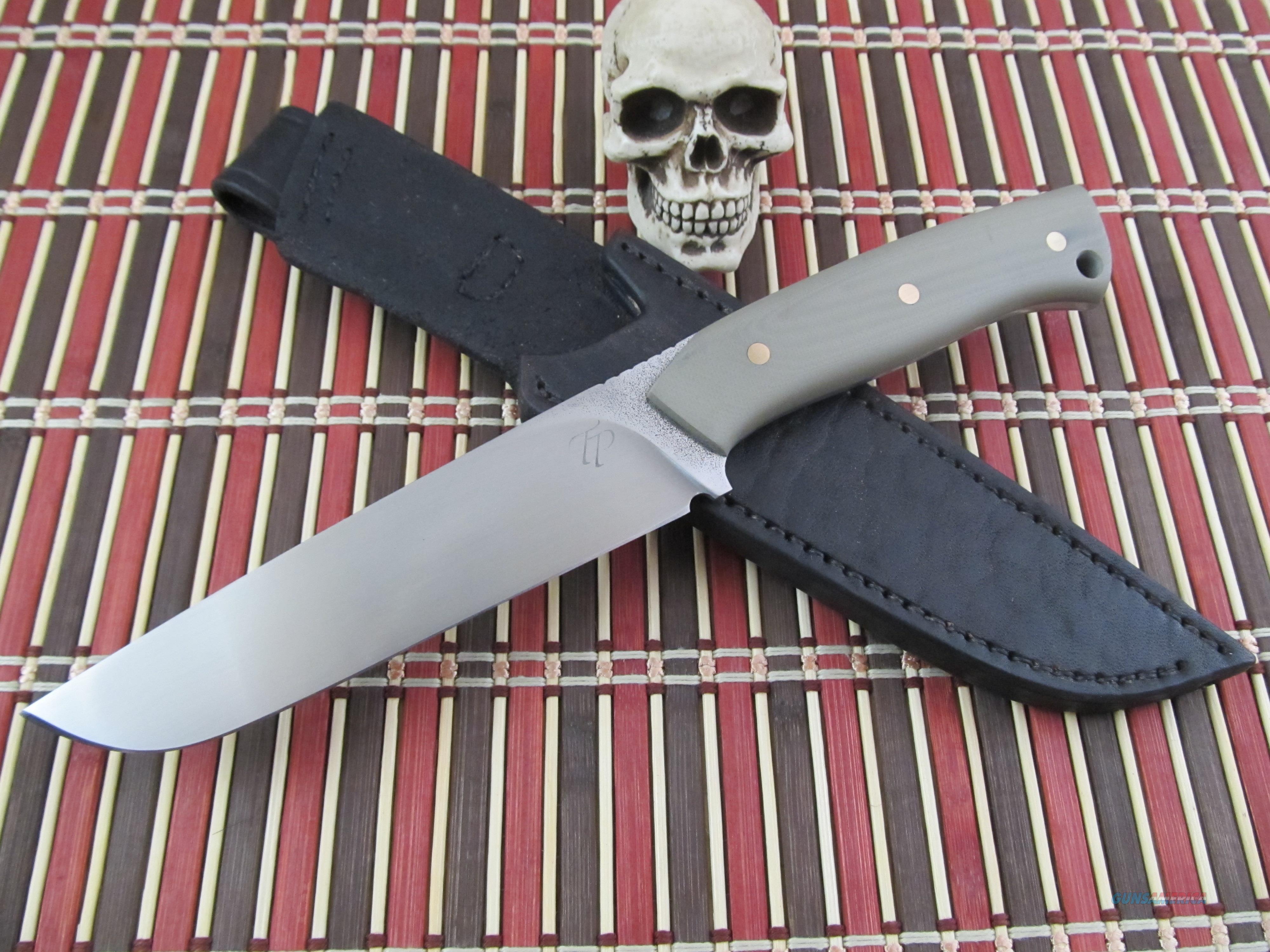 Tomas Peszeki Custom Handmade New From Maker Hunter / Fighter  Non-Guns > Knives/Swords > Knives > Fixed Blade > Hand Made