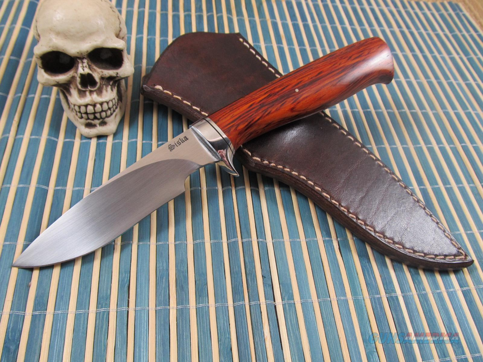 Jim Siska Custom Hand Made Hunter/Fighter  Non-Guns > Knives/Swords > Knives > Fixed Blade > Hand Made