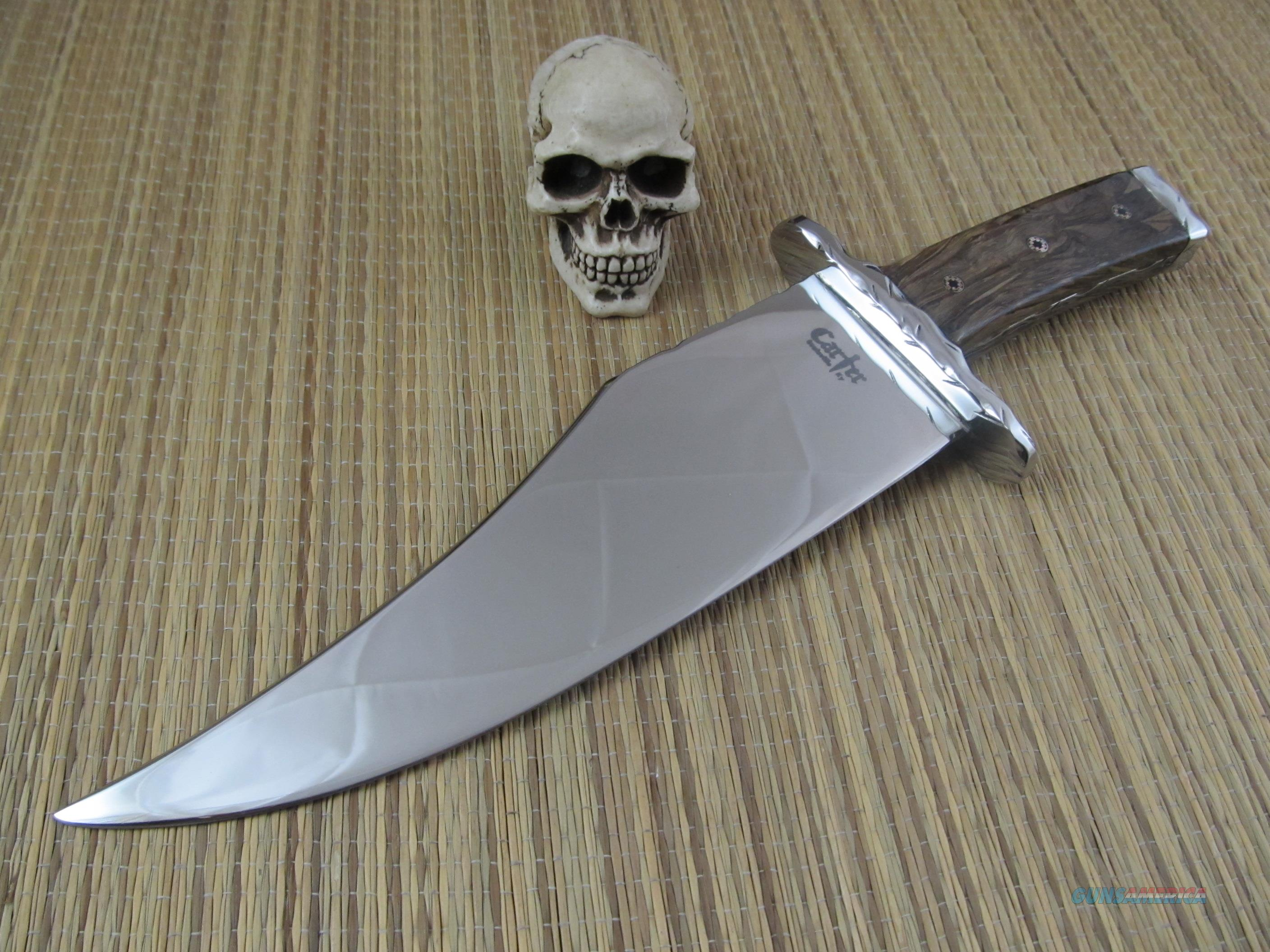 Carter Custom Knives Cheyenne Bowie  Non-Guns > Knives/Swords > Knives > Fixed Blade > Hand Made