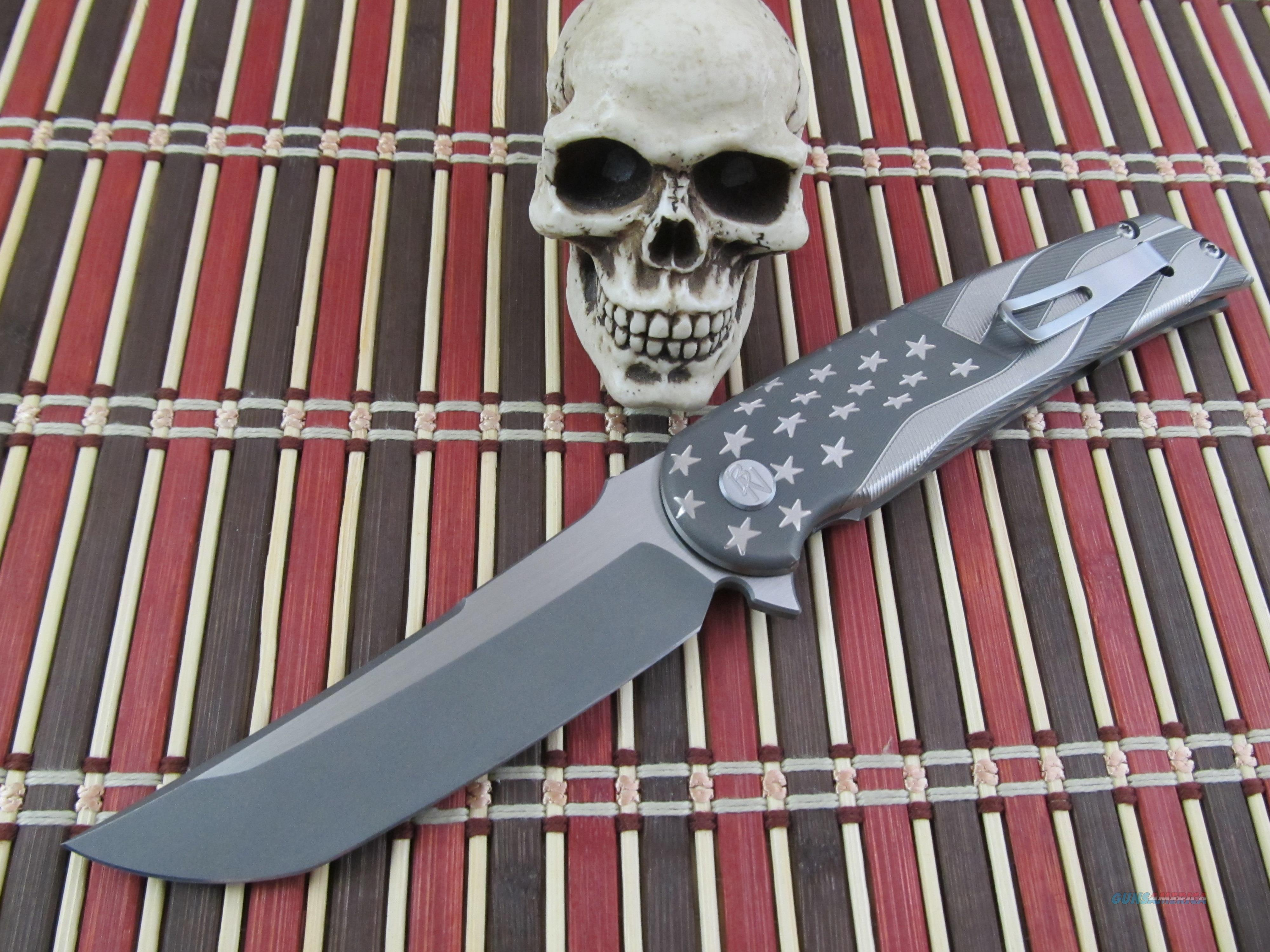 Sharp by Design Knives Brian Nadeau Owner / Maker Wavy Flag Hurricane  Non-Guns > Knives/Swords > Knives > Folding Blade > Hand Made