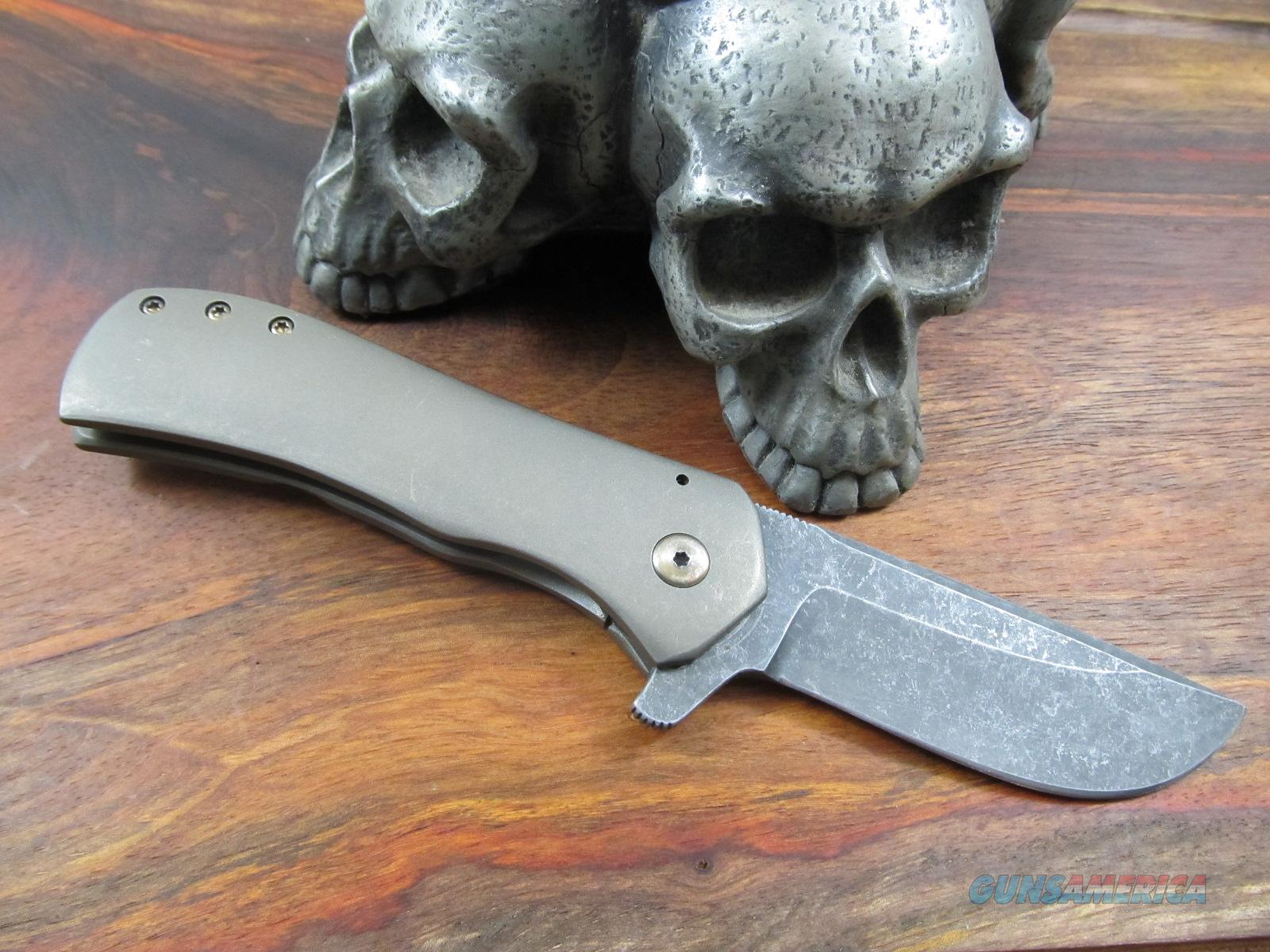 Doc Shiffer Custom Hand Made Fancy Recon  Non-Guns > Knives/Swords > Knives > Folding Blade > Hand Made