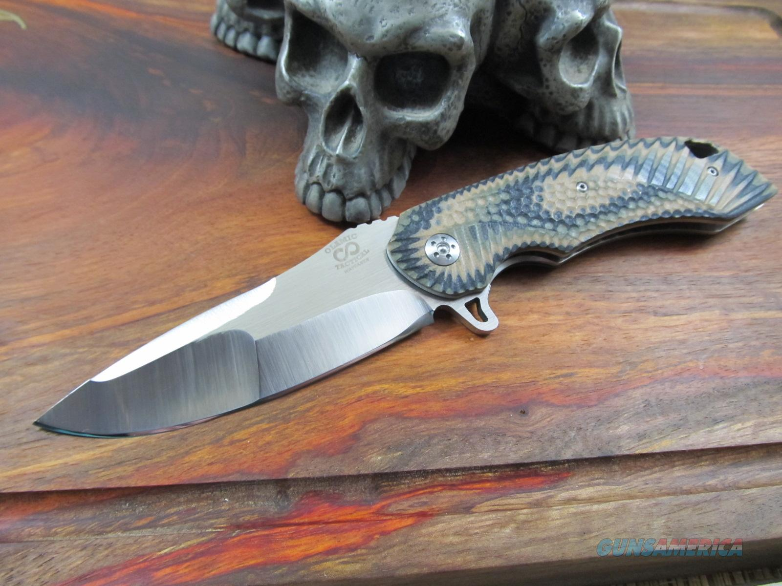Olamic Cutlery Wayfarer Flipper Folder  Non-Guns > Knives/Swords > Knives > Folding Blade > Hand Made