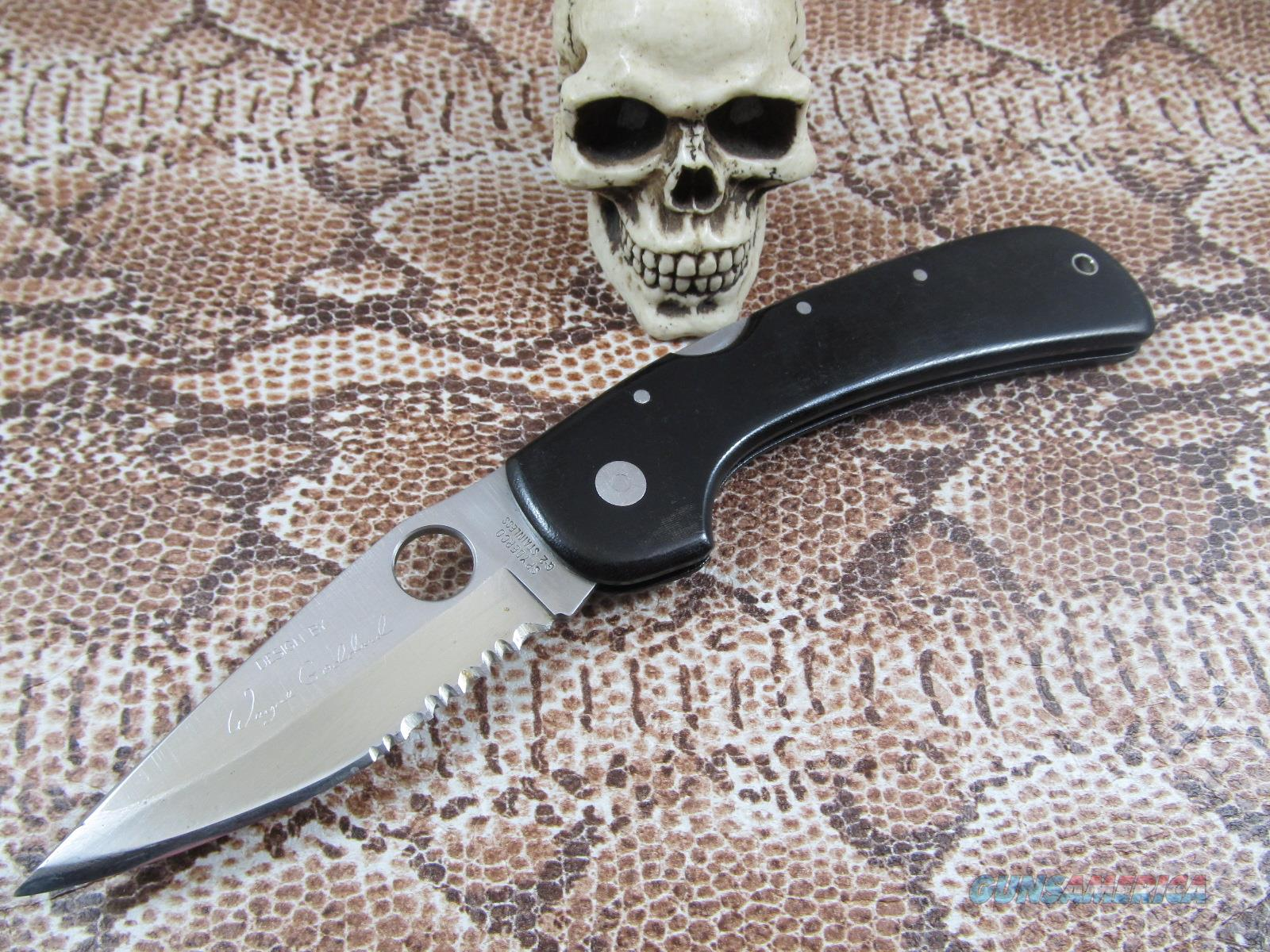 Spyderco Wayne Goddard Full Size  Non-Guns > Knives/Swords > Knives > Folding Blade > Imported
