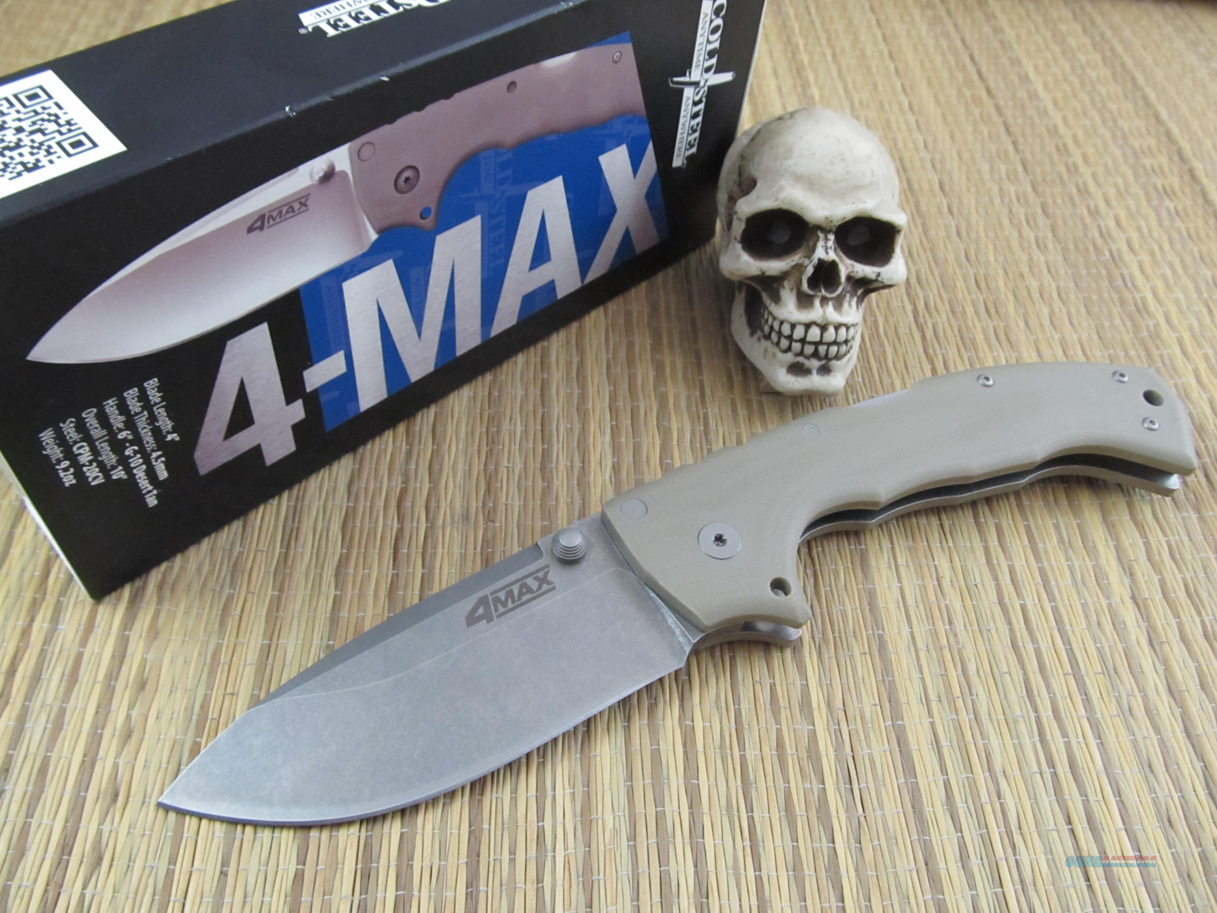 Cold Steel Andrew Demco Design 4 Max  Non-Guns > Knives/Swords > Knives > Folding Blade > Hand Made