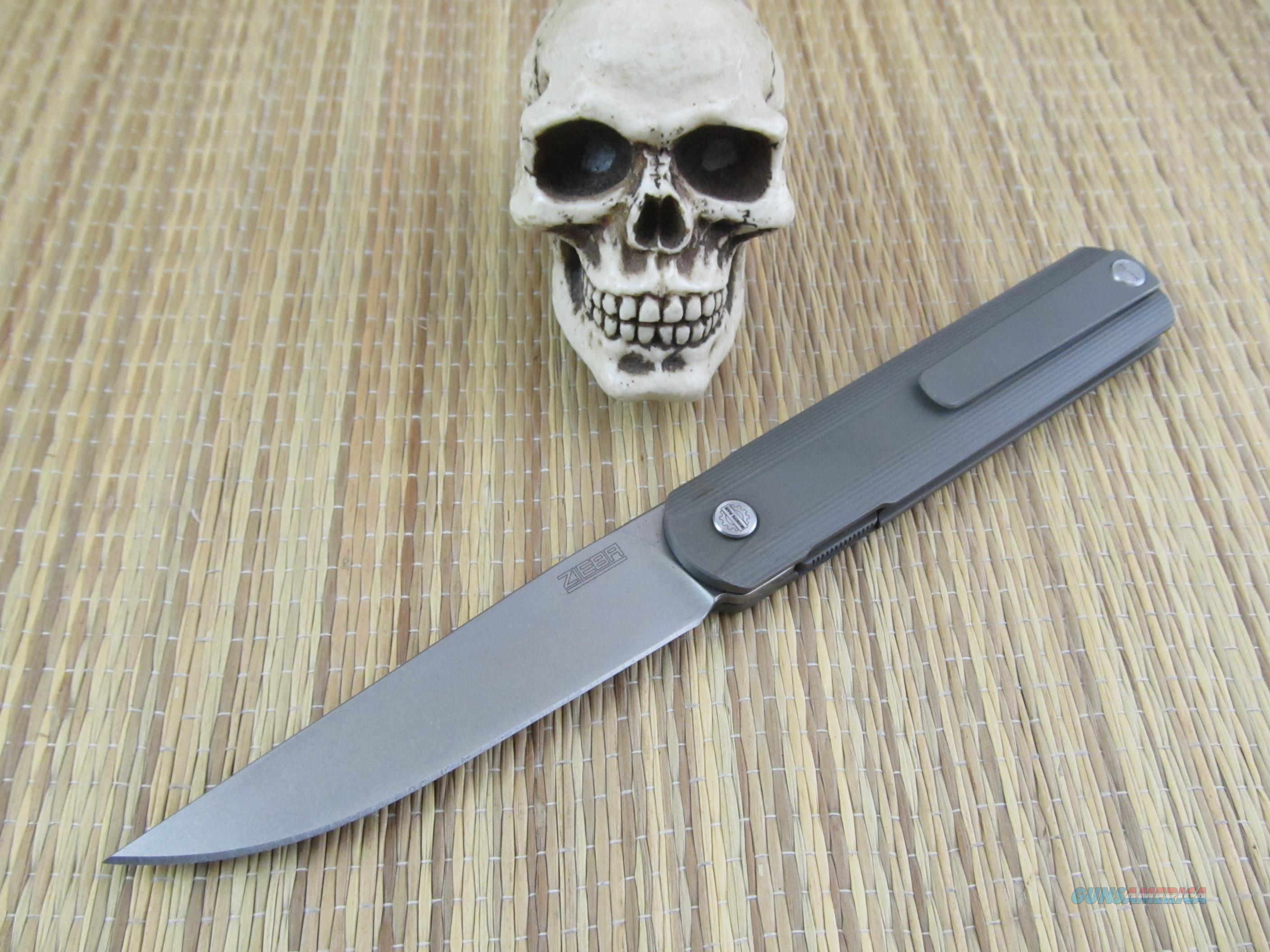 Zieba Knives Brooklyn Made New From Maker G1 Fr For Sale