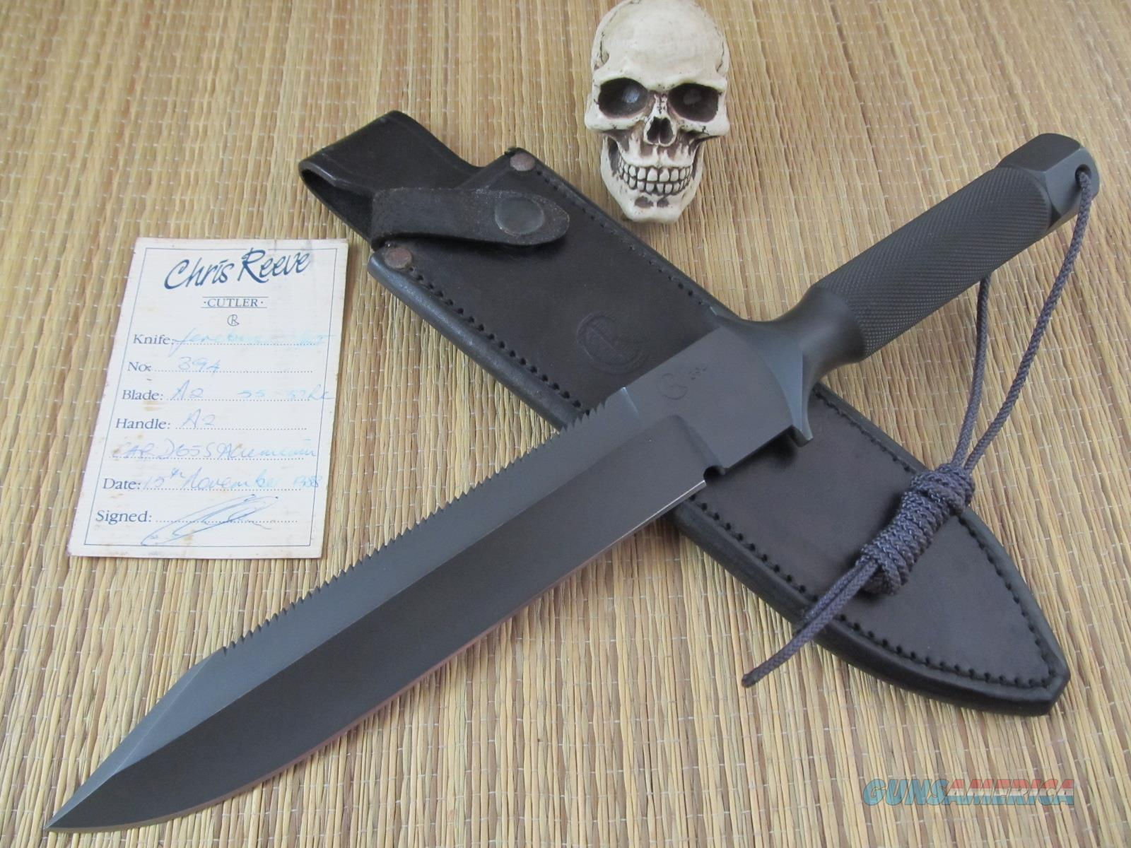 Chris Reeve Knives Rare Jereboam MK1 Made in South Africa Made in 1988 #394 of Only 529 Made  Non-Guns > Knives/Swords > Knives > Fixed Blade > Hand Made