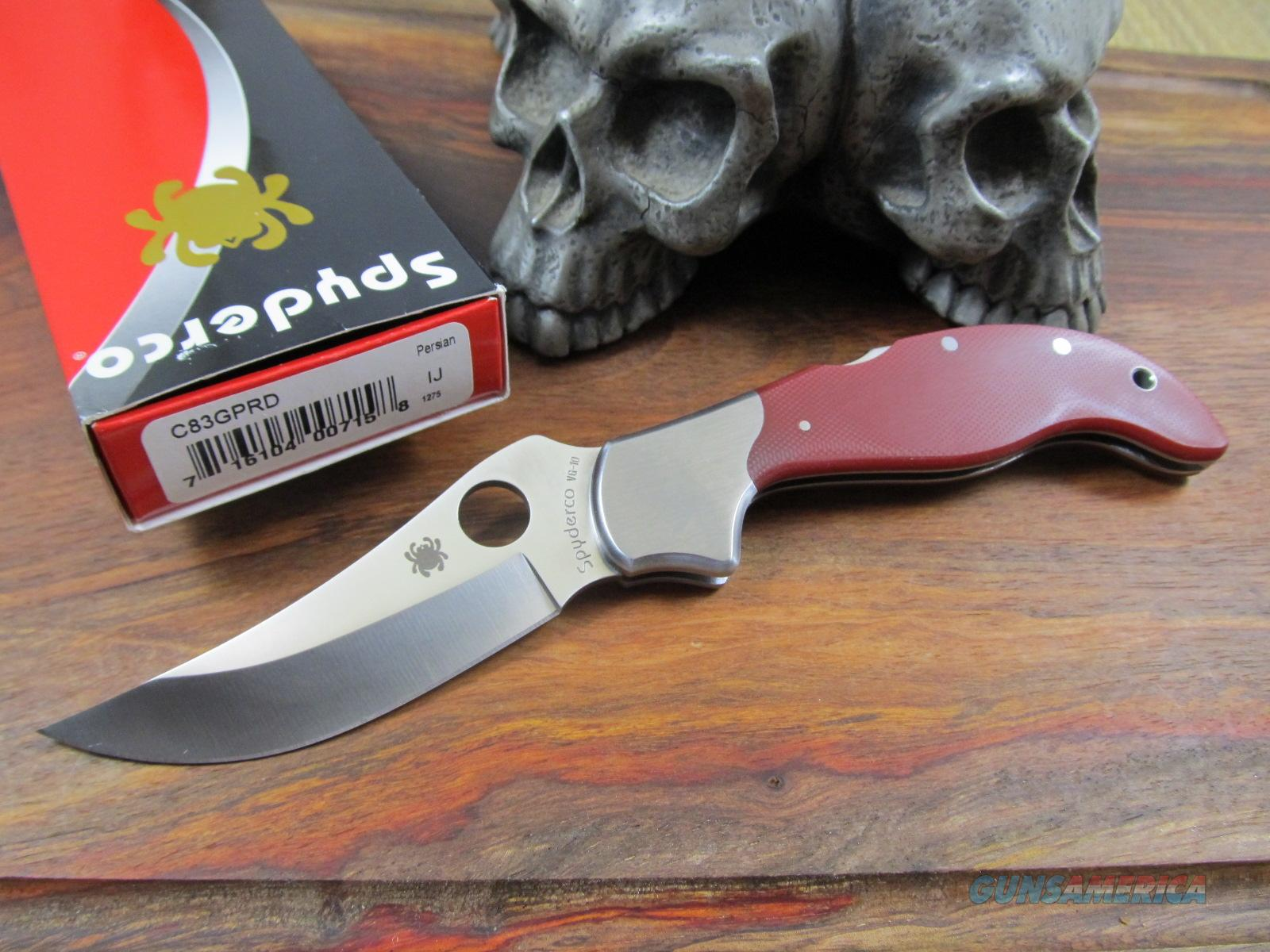 Vintage Spyderco Knives Ed Shempp Design Rare For Sale