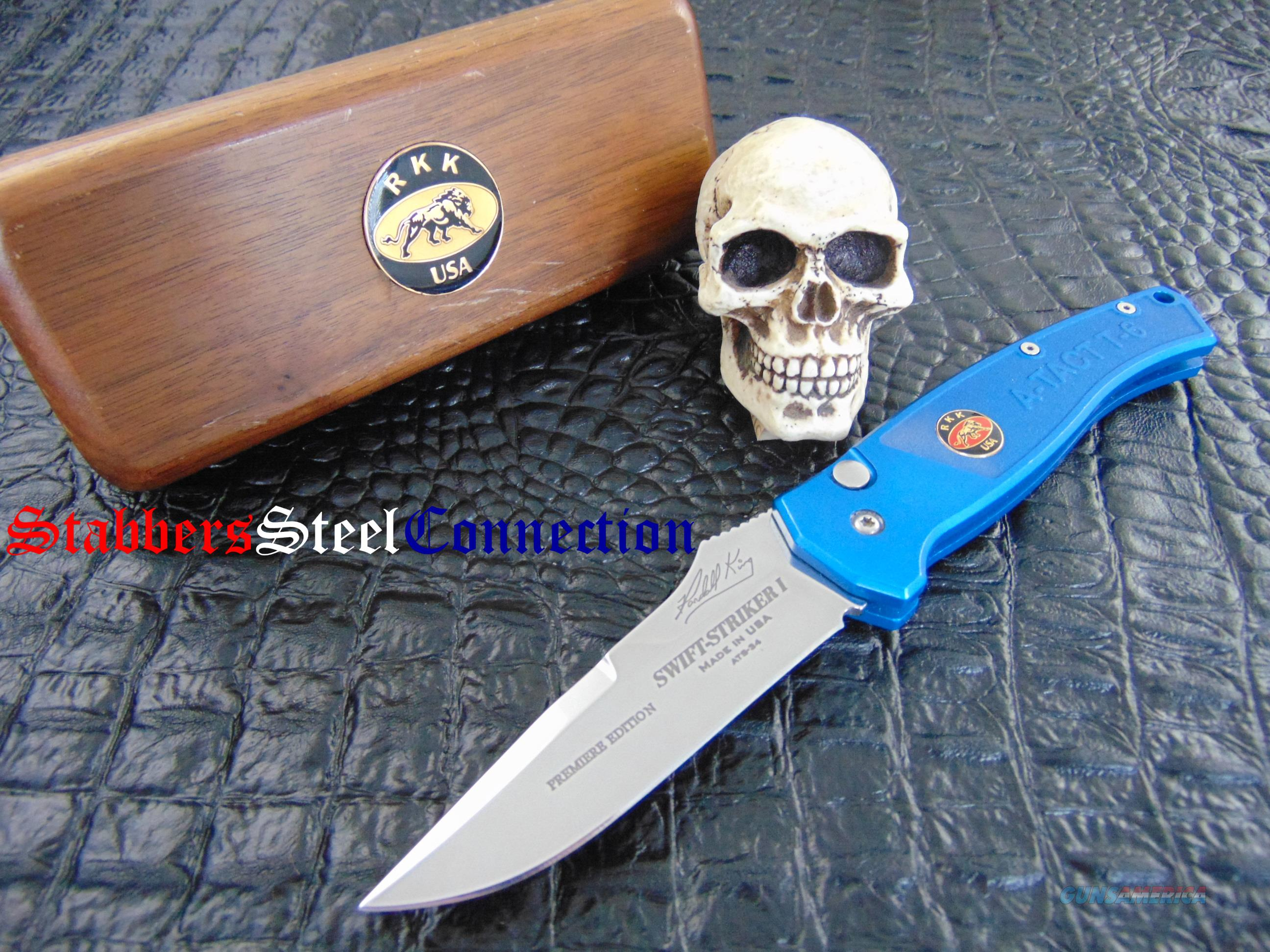 Randall King Knives Swift Striker II Premiere Edition  Non-Guns > Knives/Swords > Knives > Folding Blade > Imported