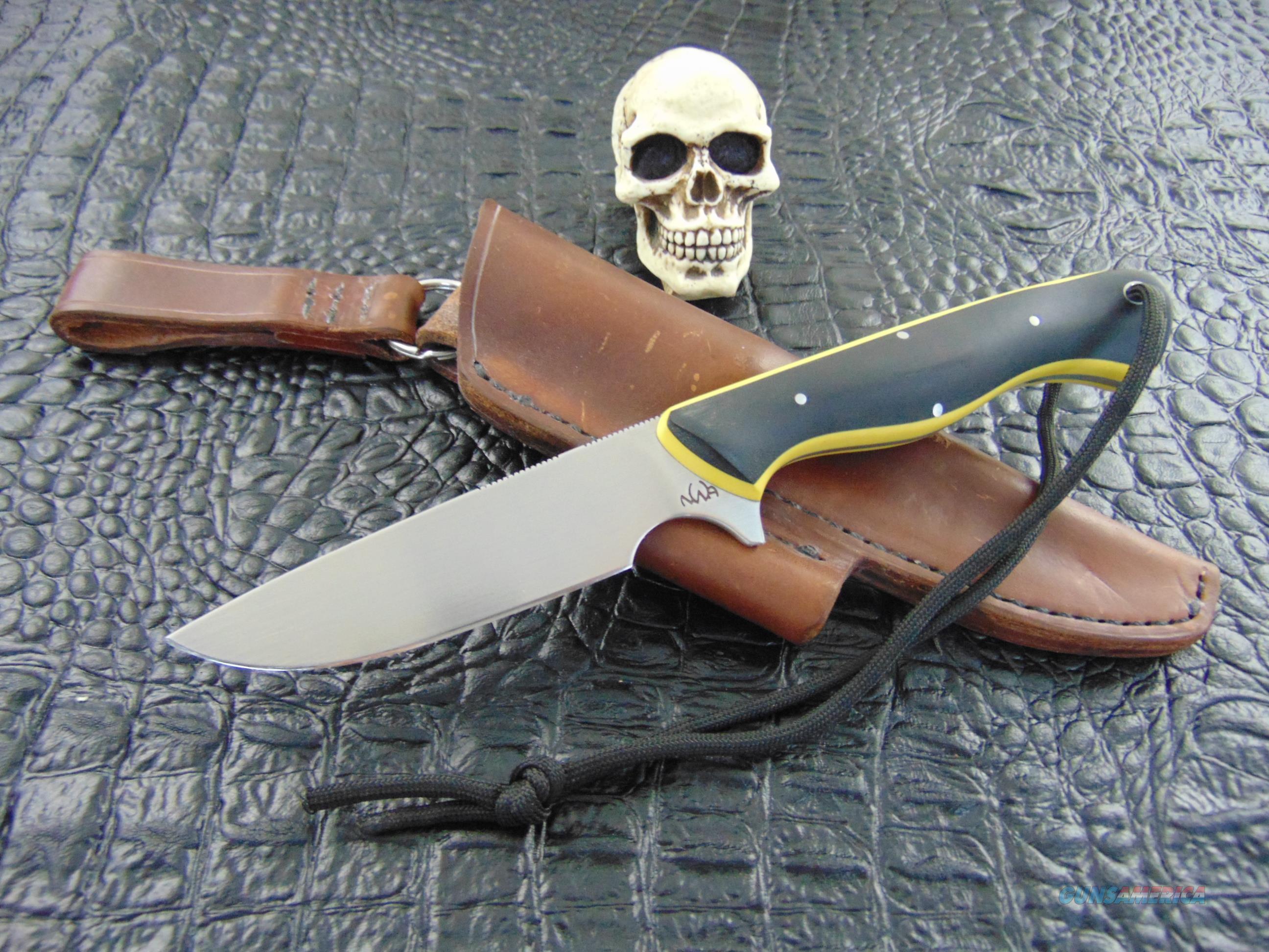 NWA Knives / Nick Allen Owner , Maker. Muskrat Model  Non-Guns > Knives/Swords > Knives > Fixed Blade > Hand Made