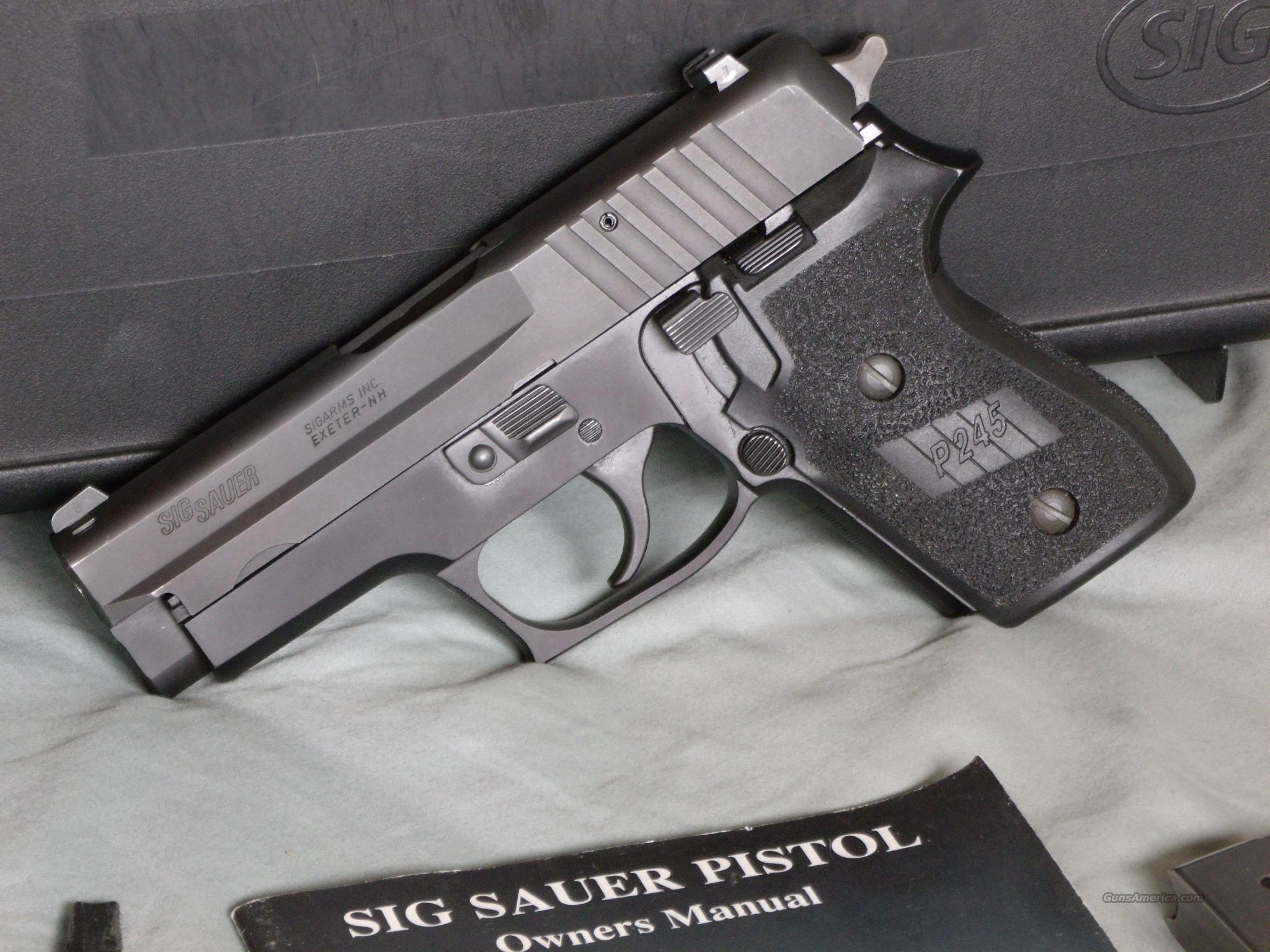 SIG P245  Guns > Pistols > Sig - Sauer/Sigarms Pistols > Other