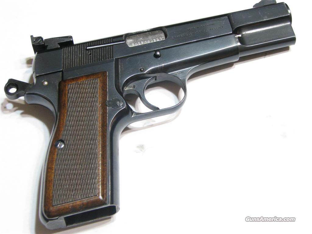 Belgium Browning Hi Power 9mm  Guns > Pistols > Browning Pistols > Hi Power